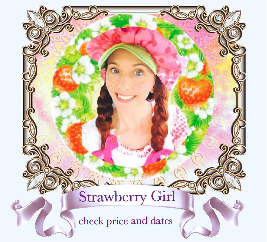 Strawberry Shortcake Character Party Bay Area Face Painter San Francisco.png