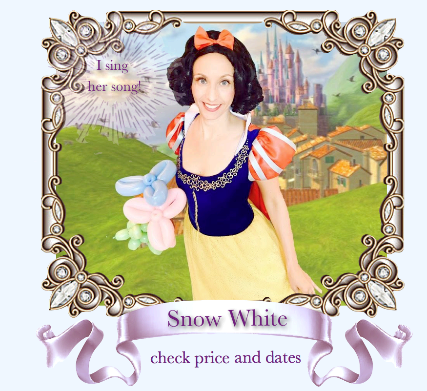Snow White Princess Character Party Bay Area .png
