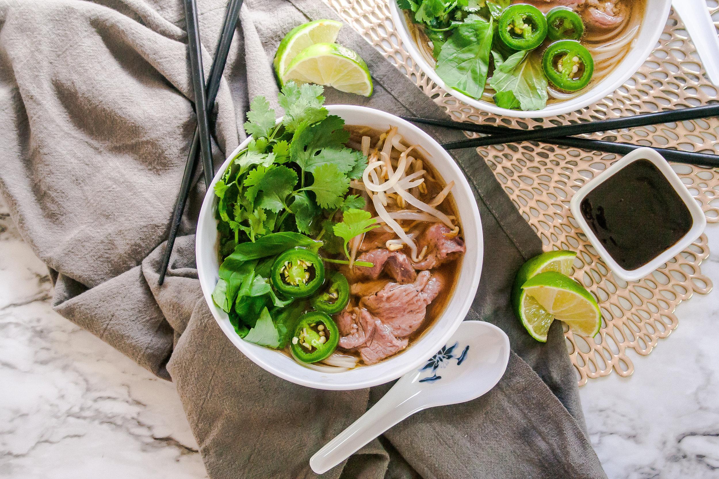 Vietnamese beef pho