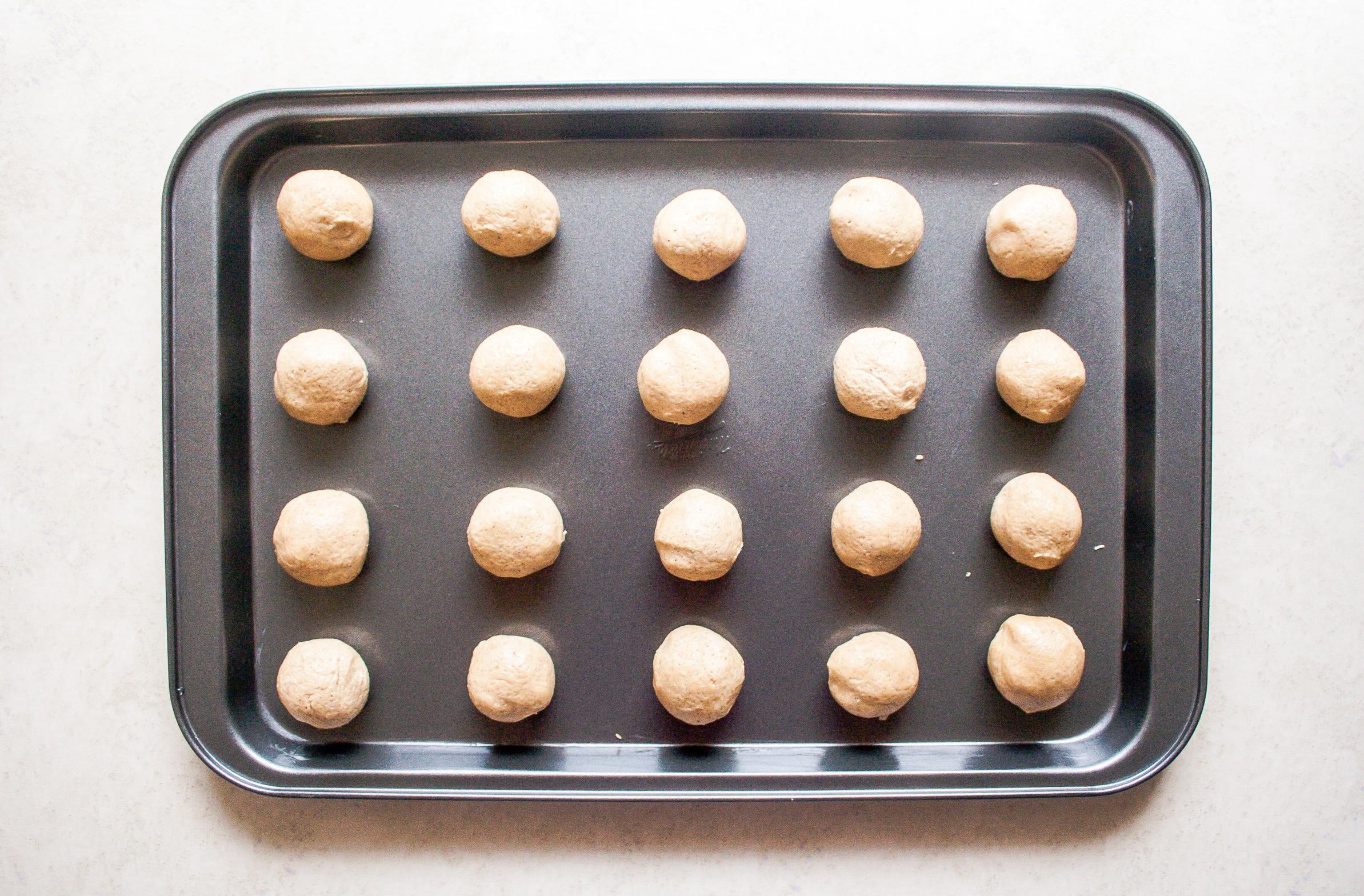 Chai Spiced Thumbprint Cookies