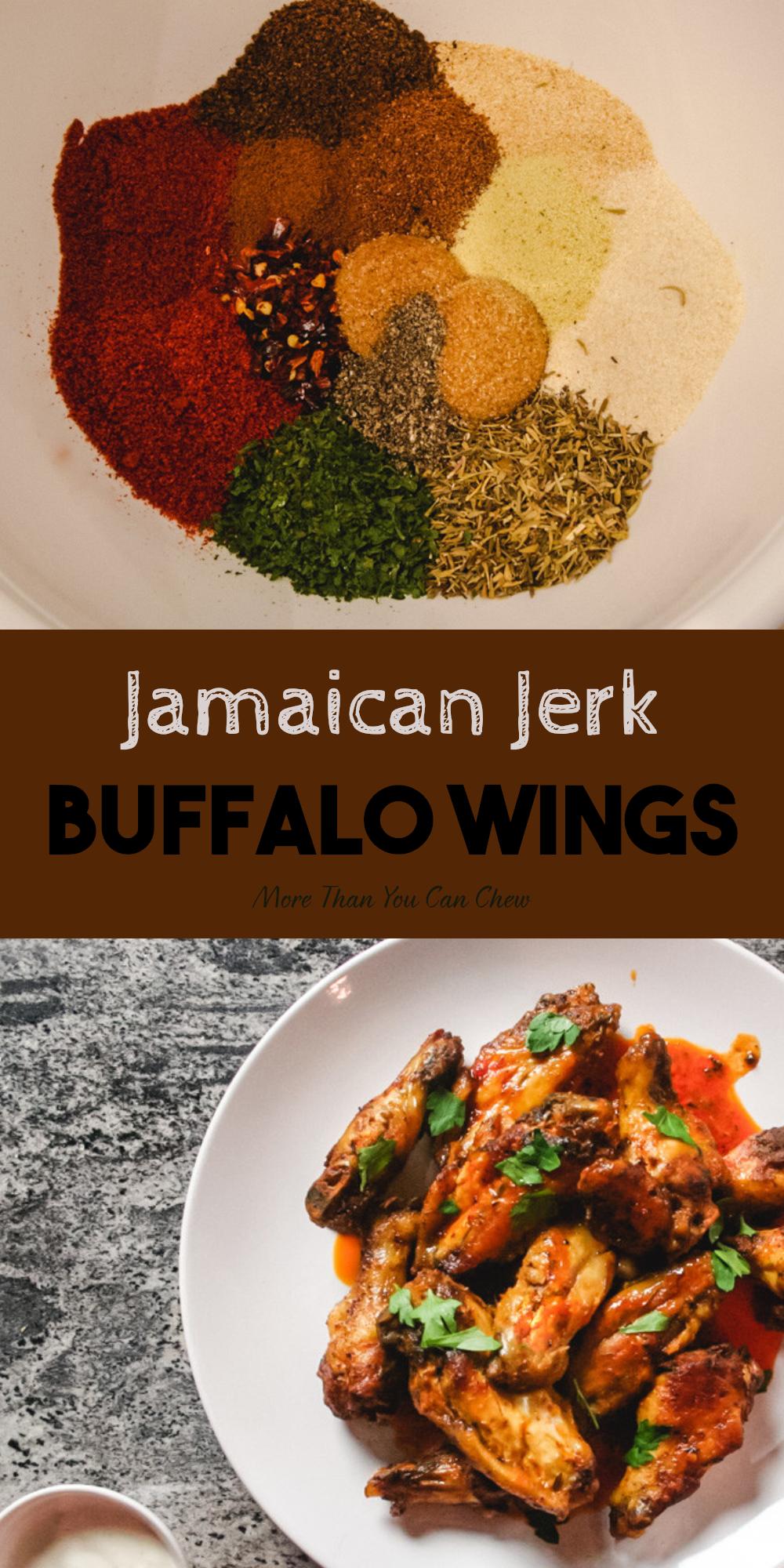 Jamaican Jerk Buffalo Wings