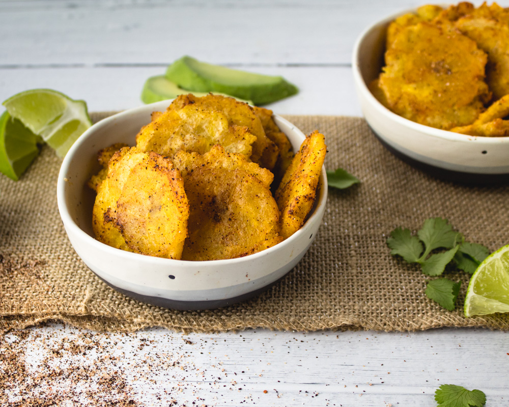 Ancho Chili Mine Tostones