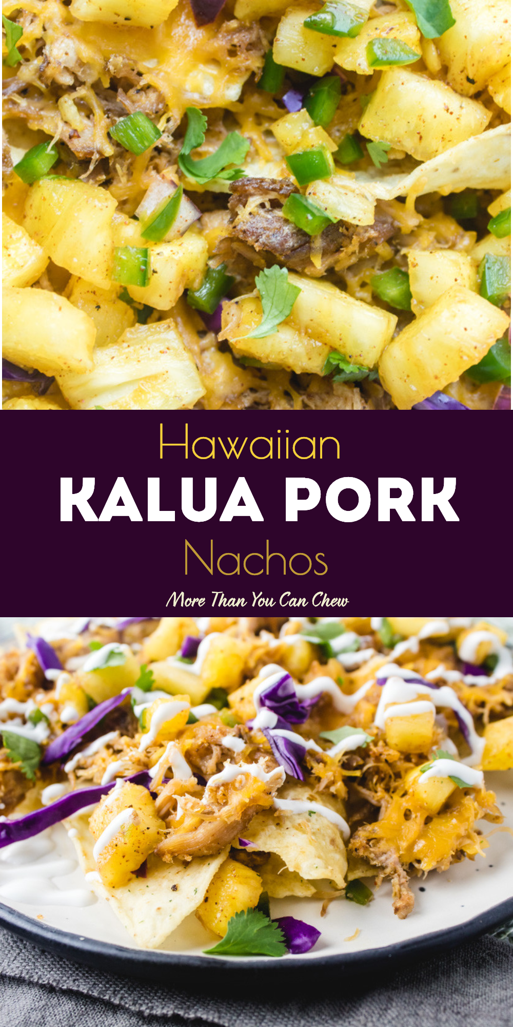 Pulled Kalua Pork Nachos