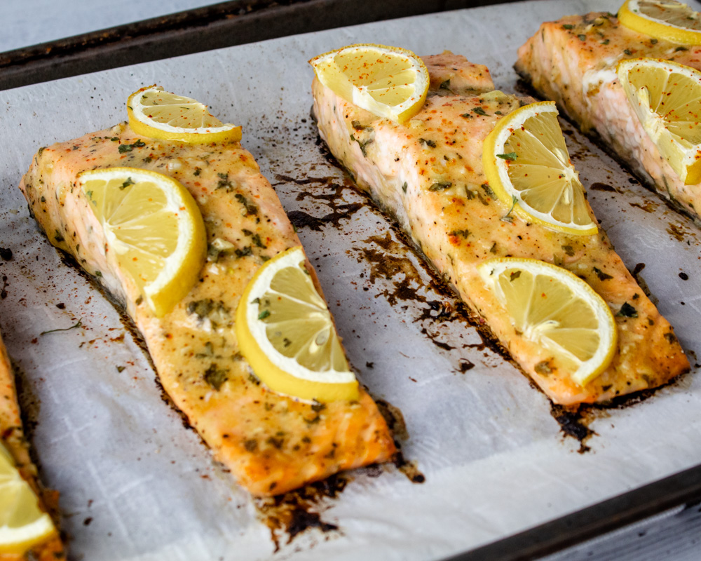 Dijon Lemon Salmon