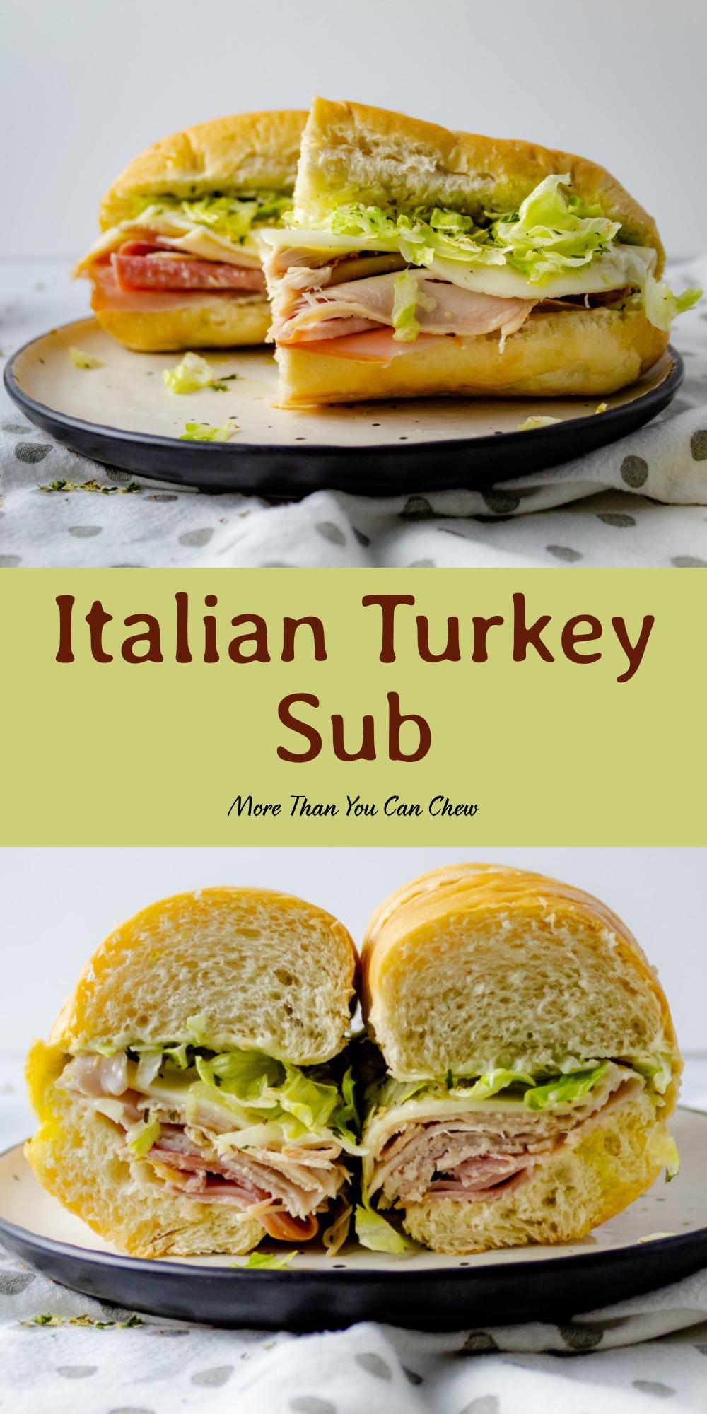 Italian Turkey Sub