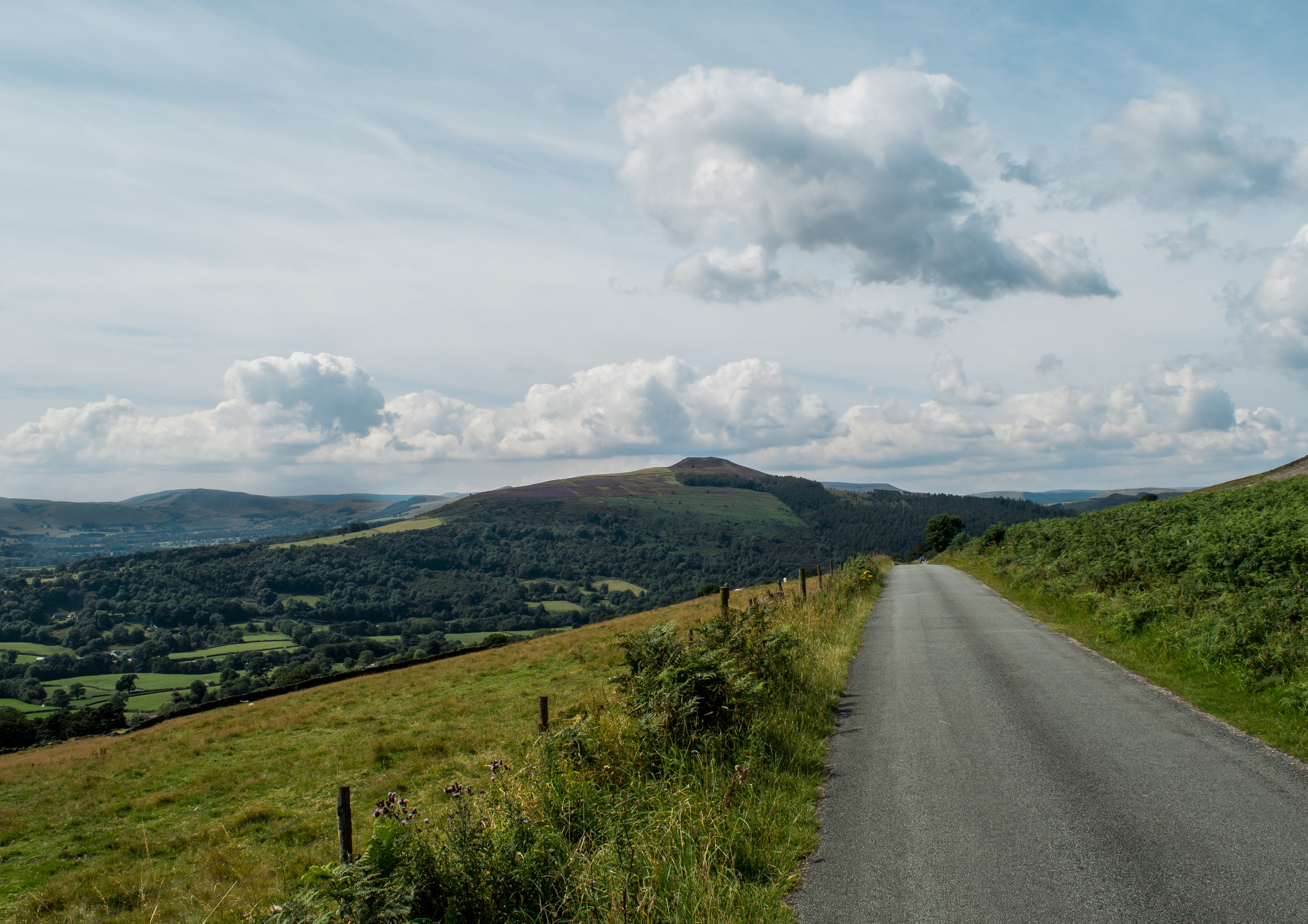 LOOKING OUT TOWARDS WIN HILL