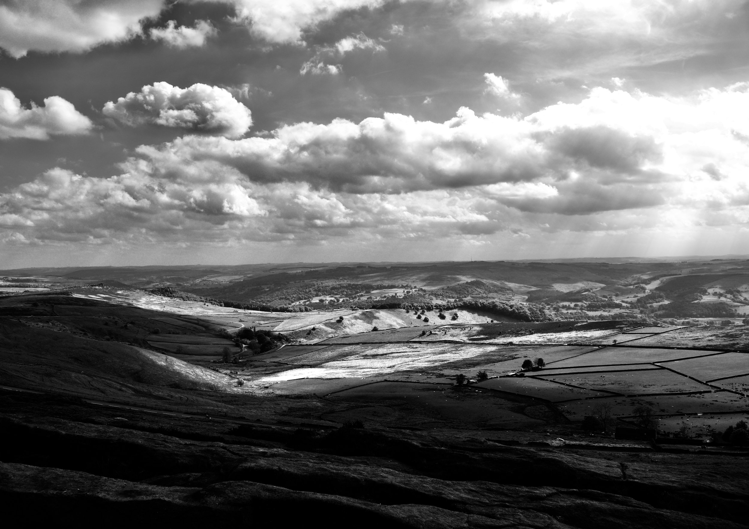 HOPE VALLEY IN BLACK AND WHITE