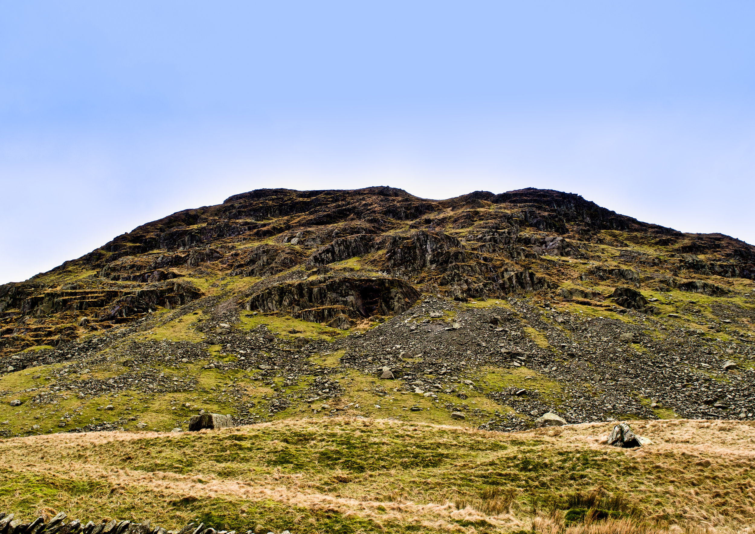 RED SCREES, LAKE DISTRICT