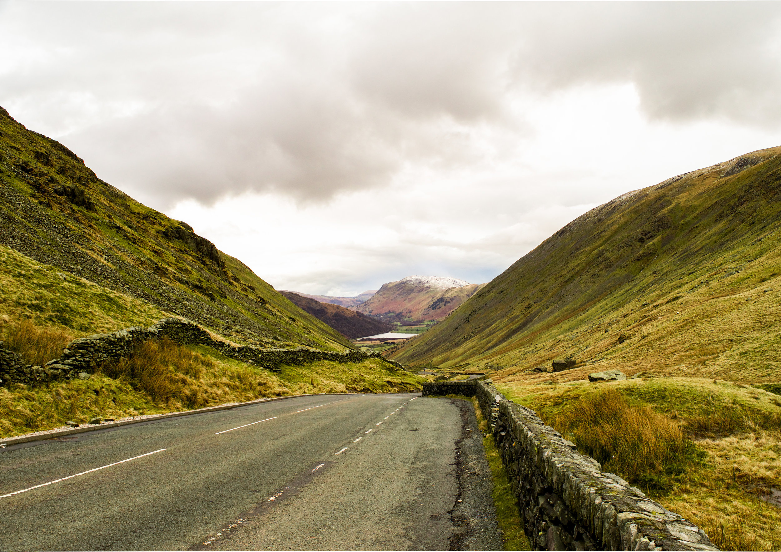 VIEW FROM THE TOP OF KIRKSTONE PASS