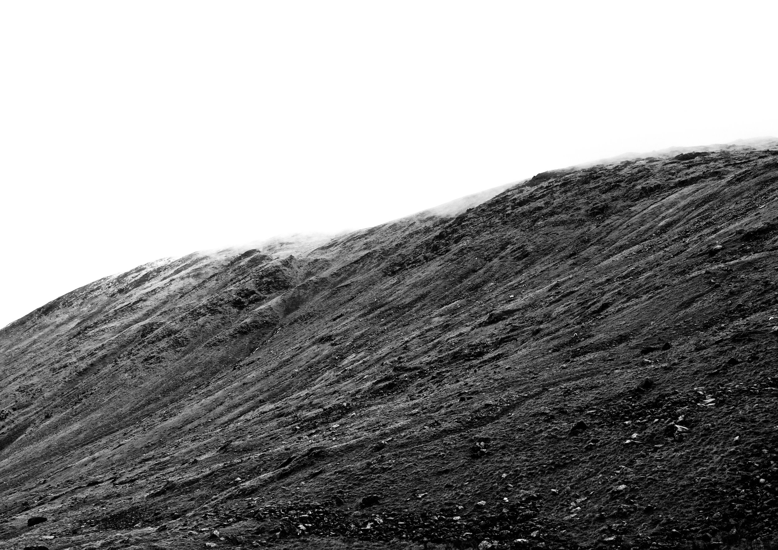 THE STEEP SIDES OF RED SCREES