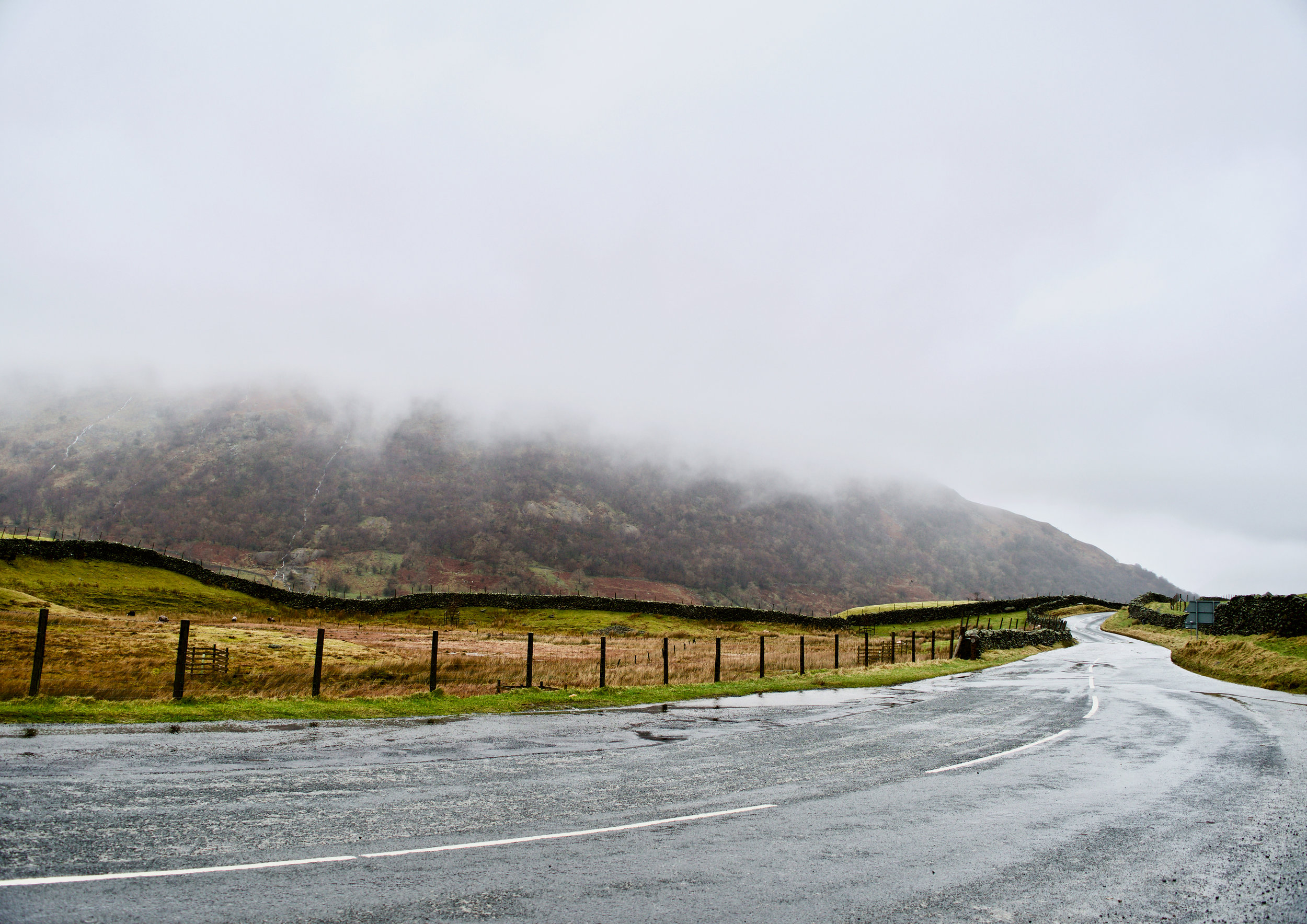 AT THE BOTTOM OF KIRKSTONE PASS