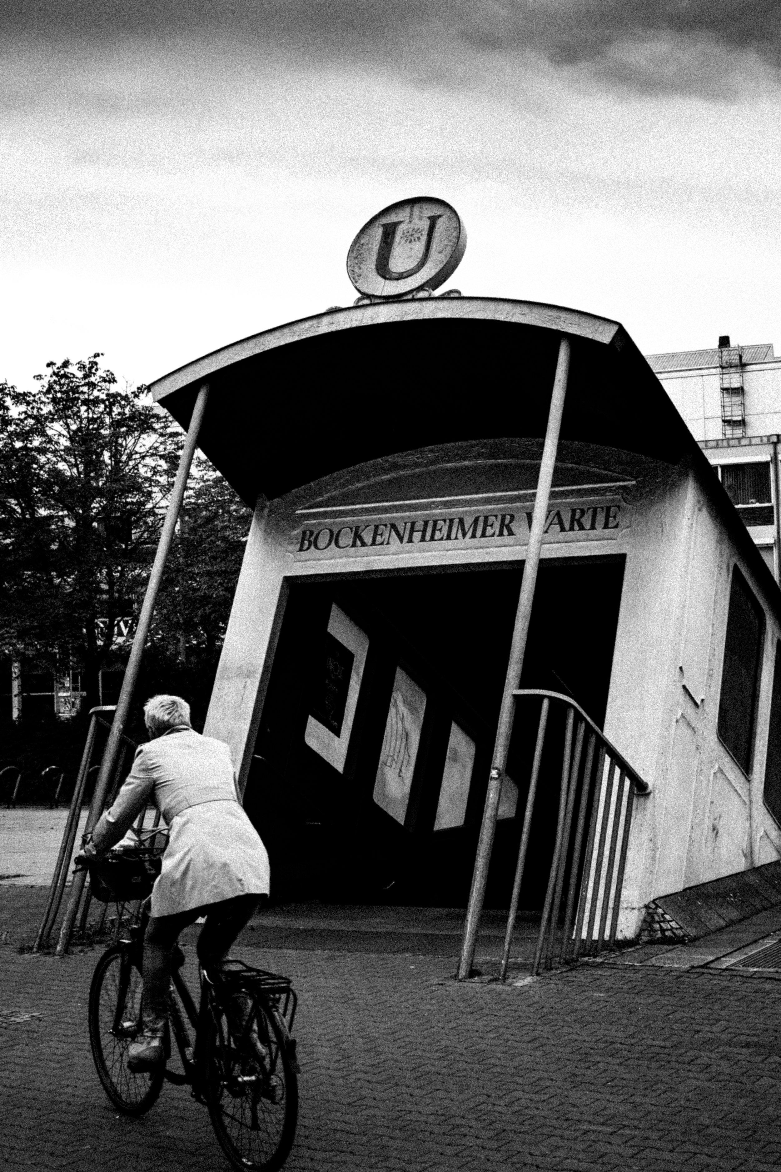 BOCKENHEIMER WARTE STATION, FRANKFURT