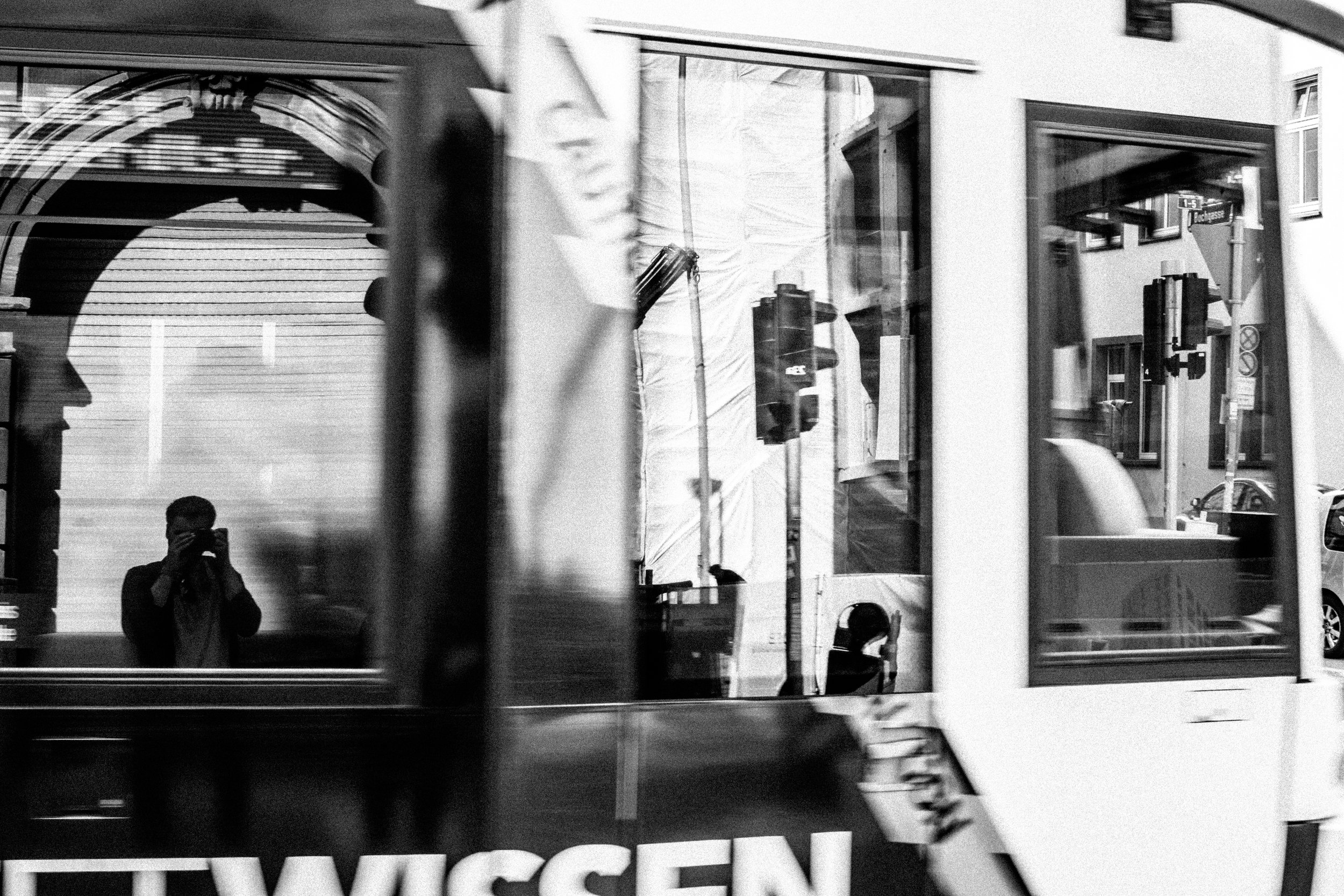 TRAM REFLECTIONS, FRANKFURT