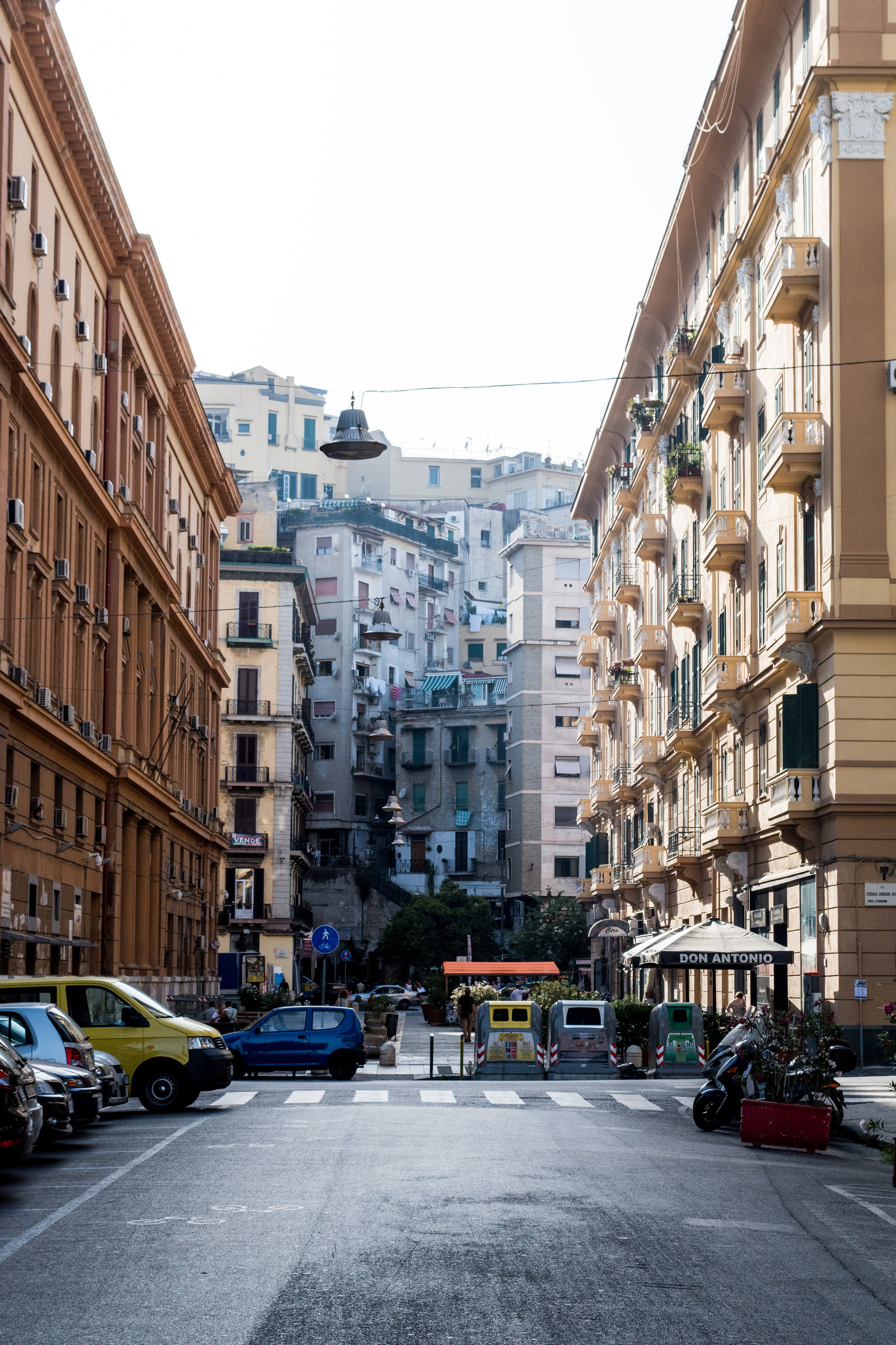 SIDE STREETS OF NAPLES