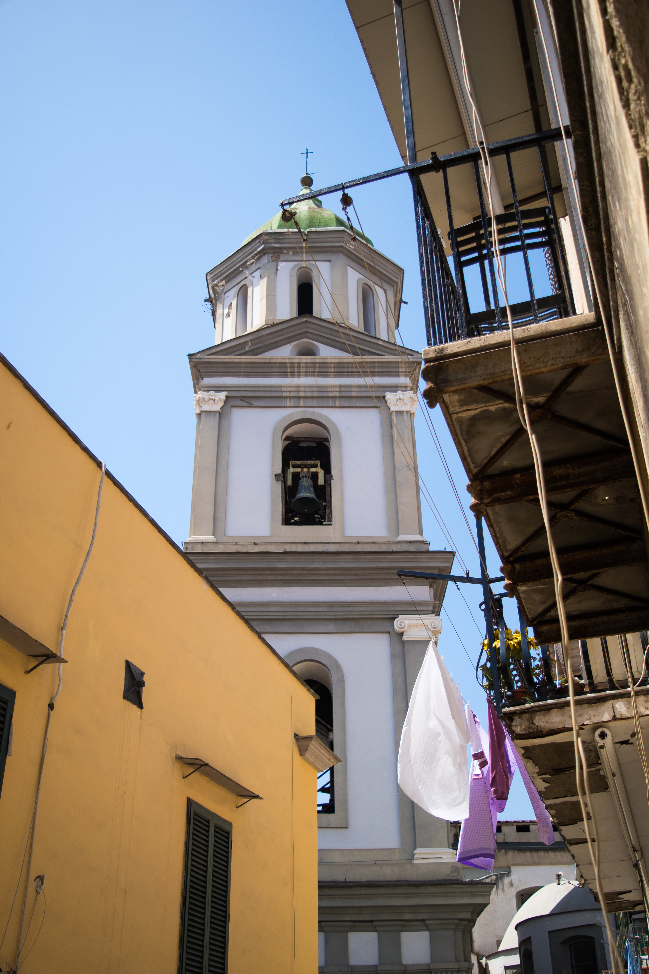 CATACOMBS OF SAN GAUDIOSO BELL TOWER