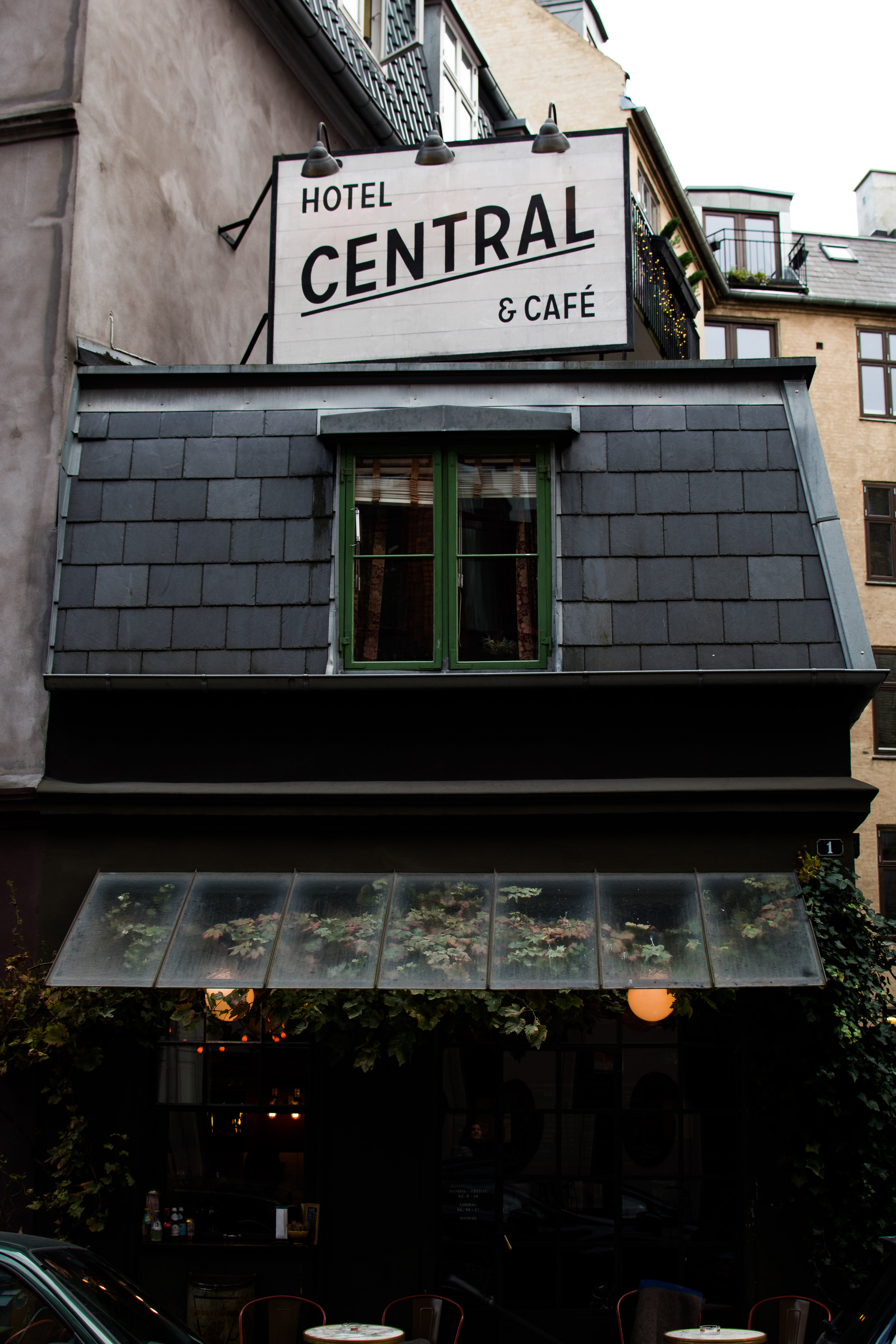 CENTRAL HOTEL AND CAFE