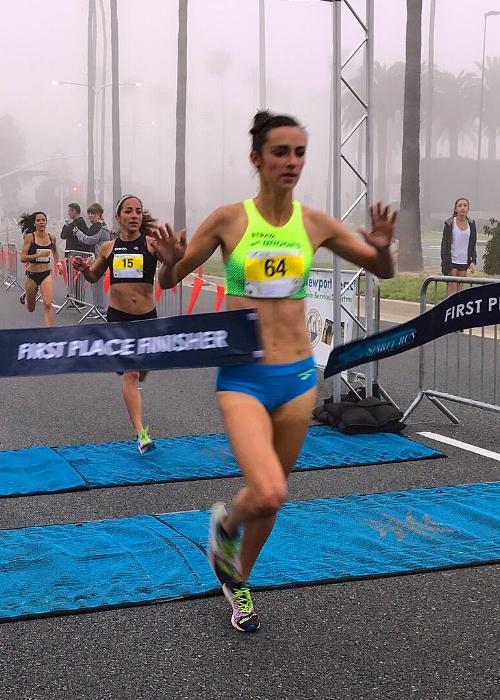 Tori Tsolis - 1st Place Female Spirit Run 2017 Elite MileAll Big West at University of California Santa BarbaraPersonal Record in the 1500 meters of 4:10Smoking fast 4:22 at 2017 Santa Barbara Road Mile