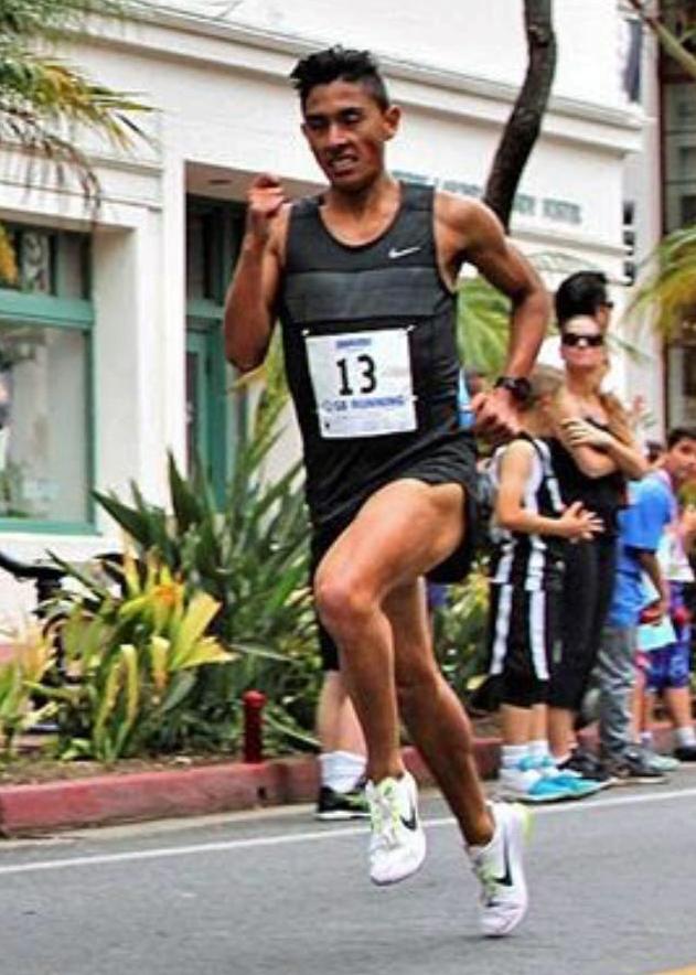 Omar Gonzalez - Personal record in the 1500 meters of 3:49Personal record in the indoor mile of 4:07Personal record in the road mile of 4:01Personal record in the 5000 meters of 14:30