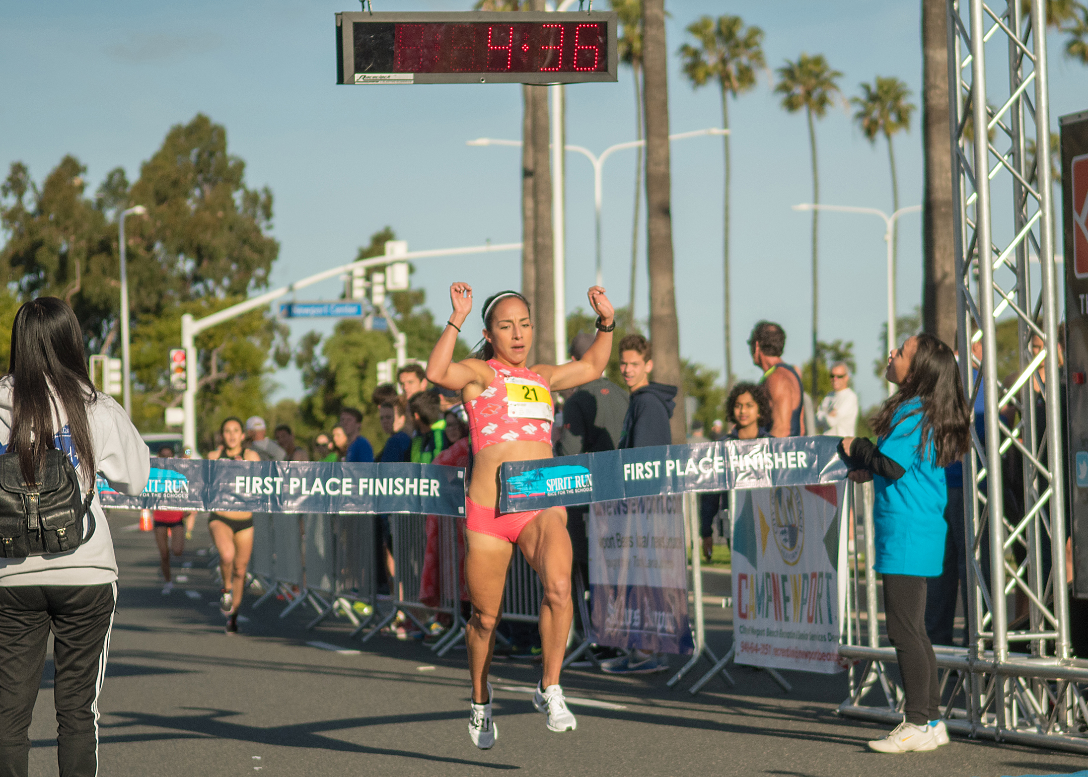 Ayla Granados - 1st Place Female Spirit Run 2018 Elite Mile.All American Chico State over 1500 meters6th US Road Mile Championships 2016Smoking Fast 4:23 at the SB road mile in 2017Personal Record in the 1500 meters of 4:13Personal Record in 5000 meters on track 16:01