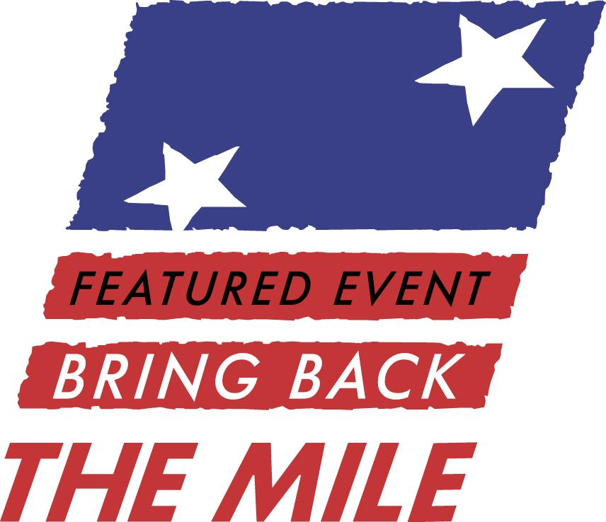 Spirit Run is a Bring Back the Mile Featured Event - Visit Bring Back the Mile to learn more.