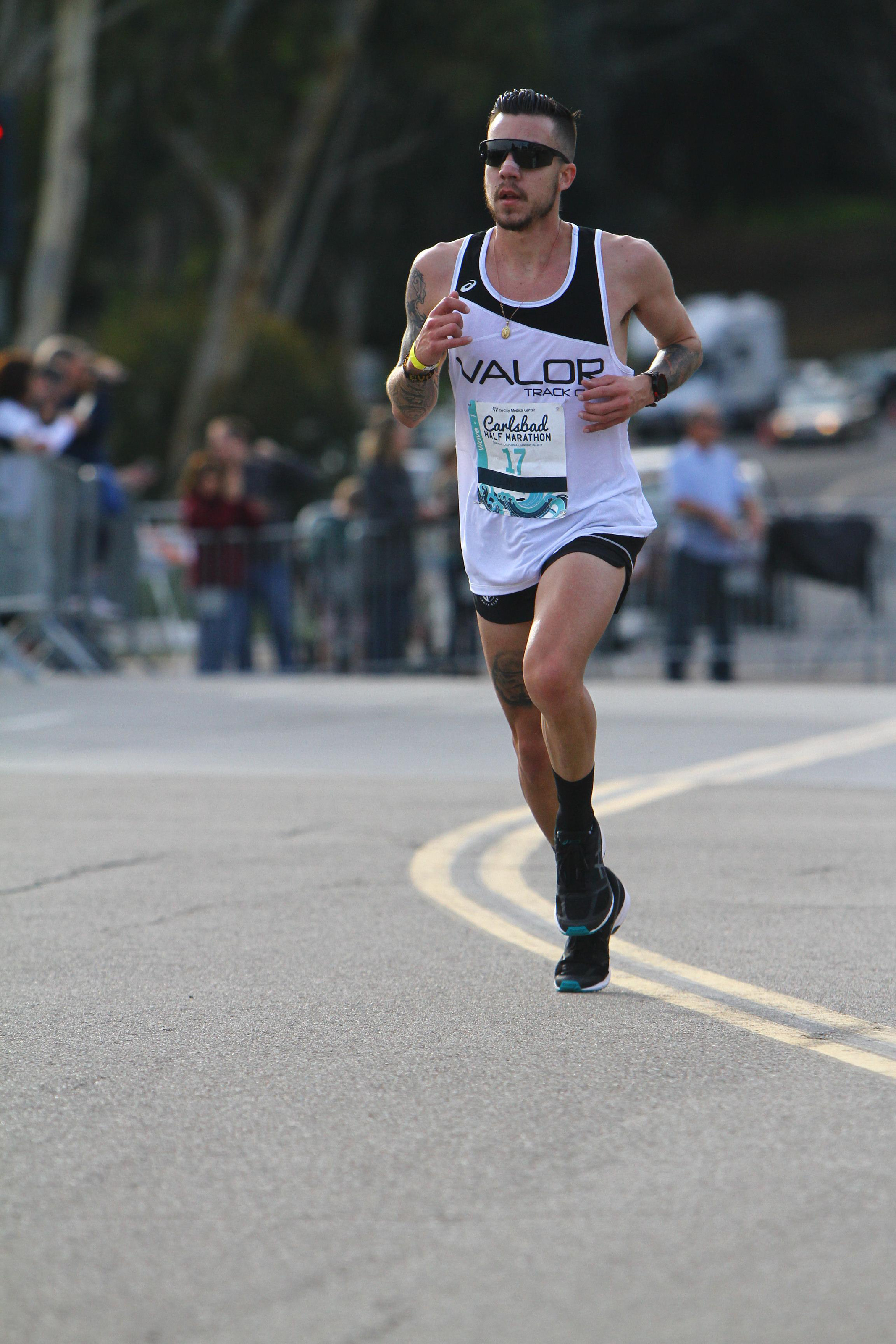Anthony Solis - 2016 Olympic Marathon Trials Qualifier2014 US Half-Marathon Championships 64:352009 Pan American Games 10,000m 5th placePersonal best in the mile of 4:04Personal best in the 5000 meters of 14:08Personal best in the 10000 meters of 29:31Personal best in the half marathon of 1:04:35