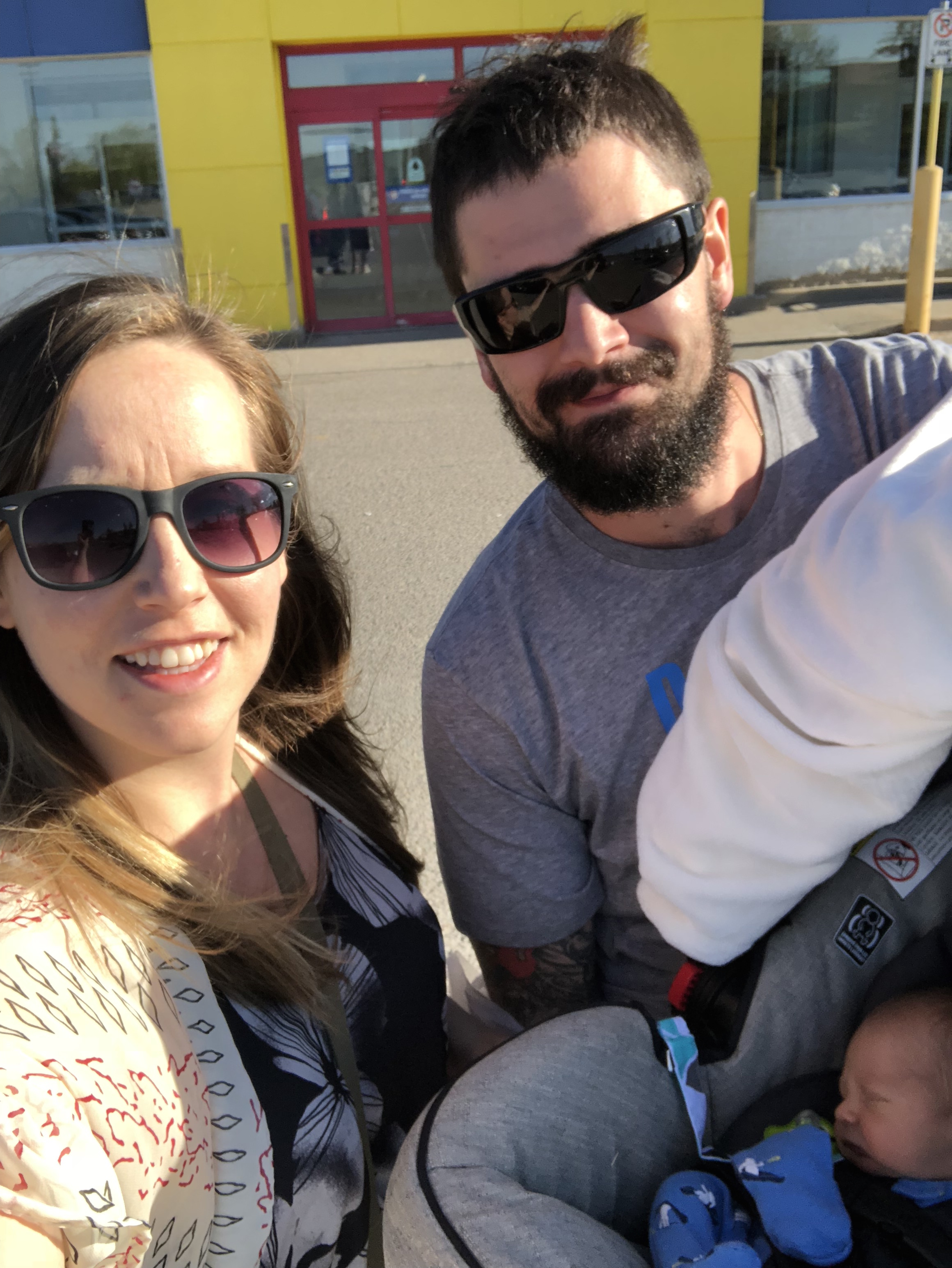 First family outing to Toys R' Us