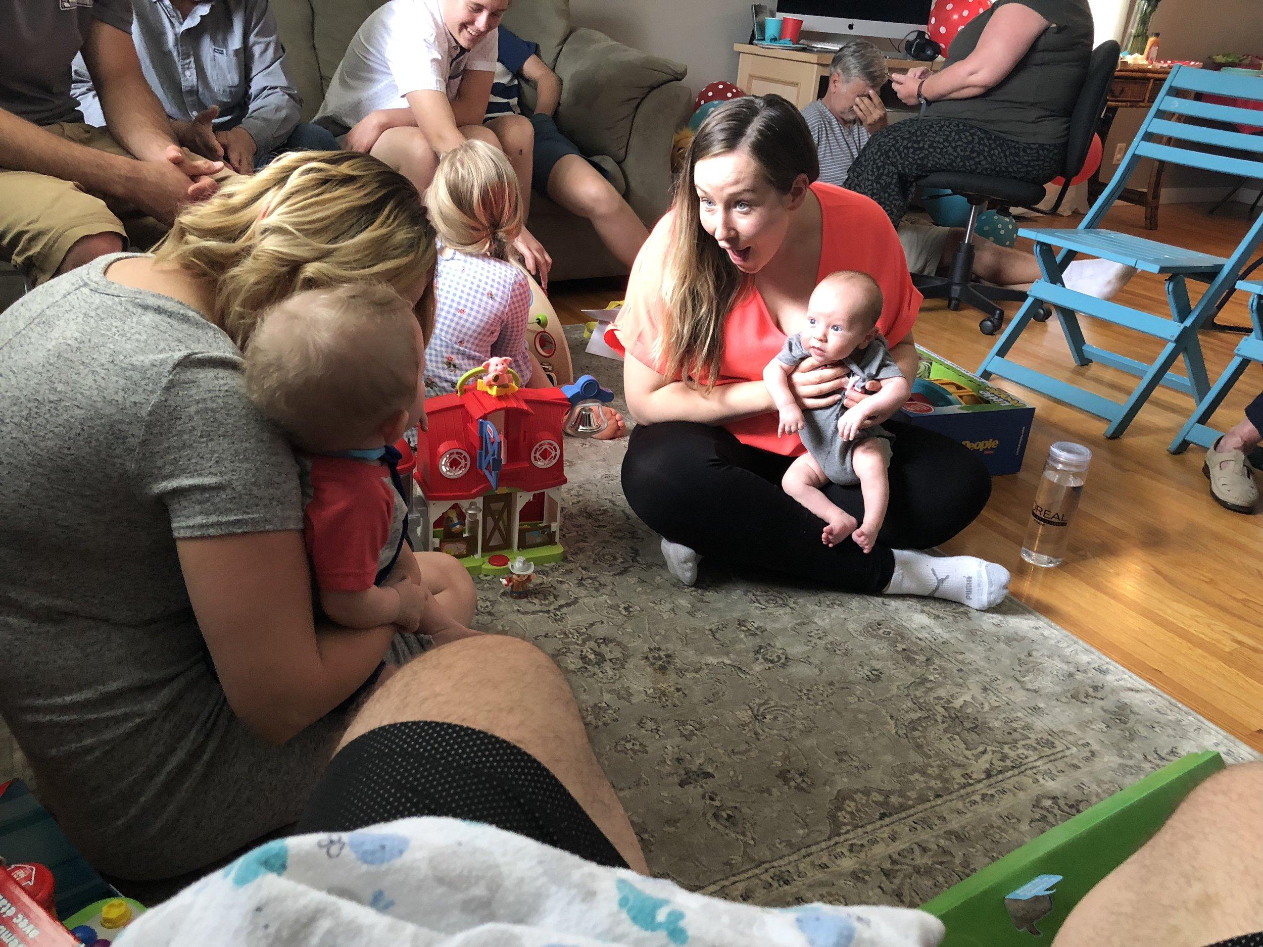 Thomas' First Birthday Party