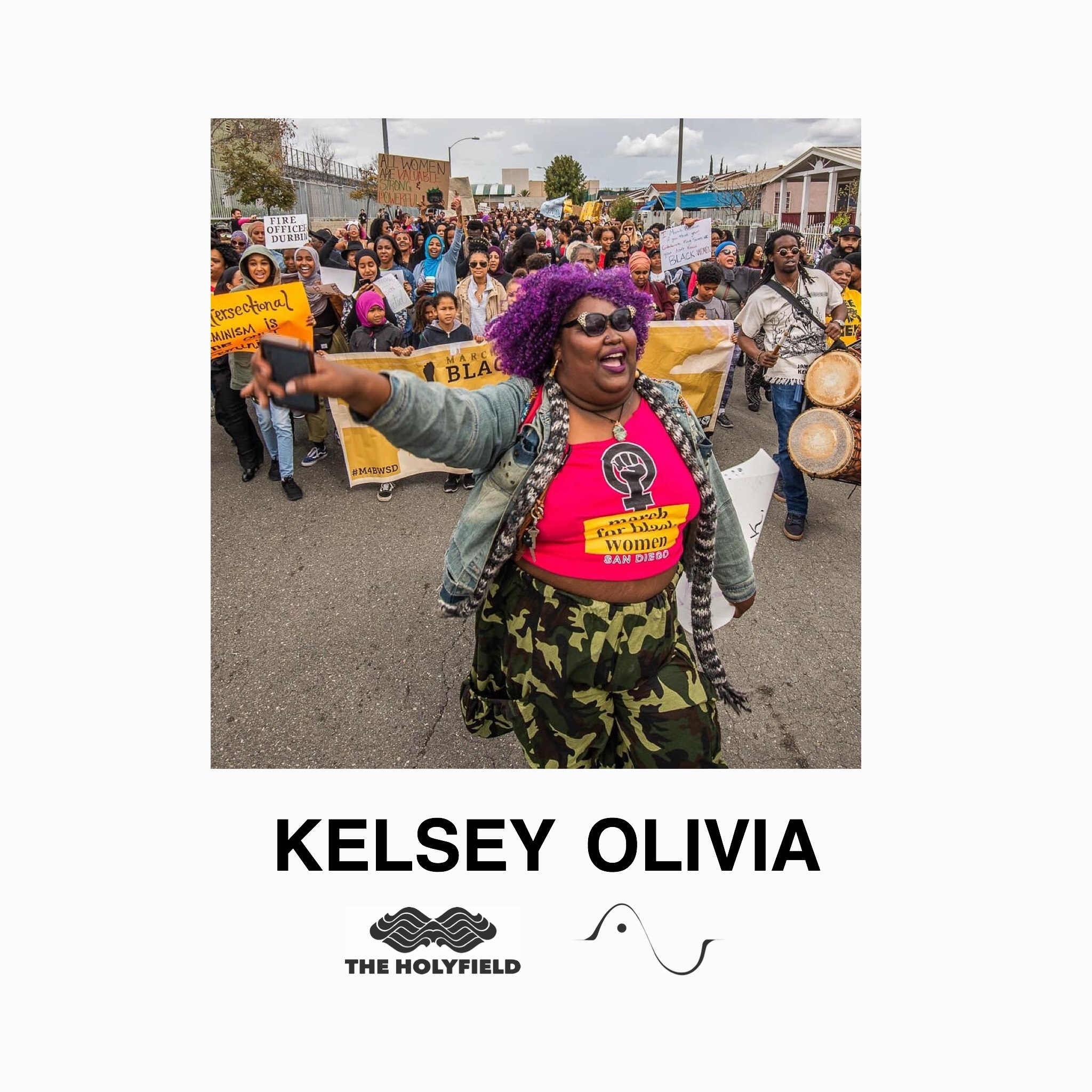 Kelsey Olivia is a well known poet and activist. She put together the March for Black Women San Diego and will be talking about how poetry helped her turn her Monsters into Masterpieces.