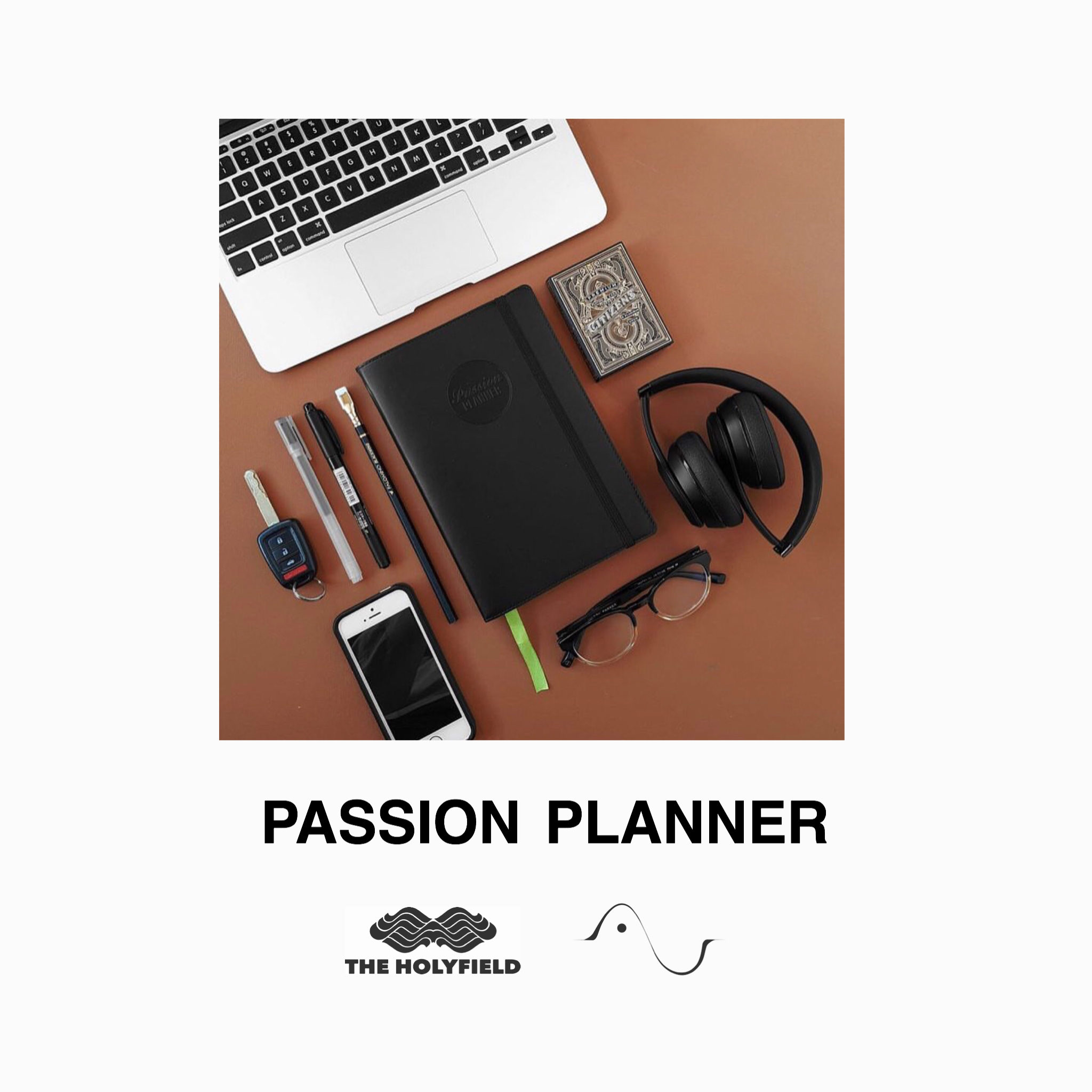 The Holyfield has partnered with Passion Planner to give all attendees a free Black Elite Passion Planner.