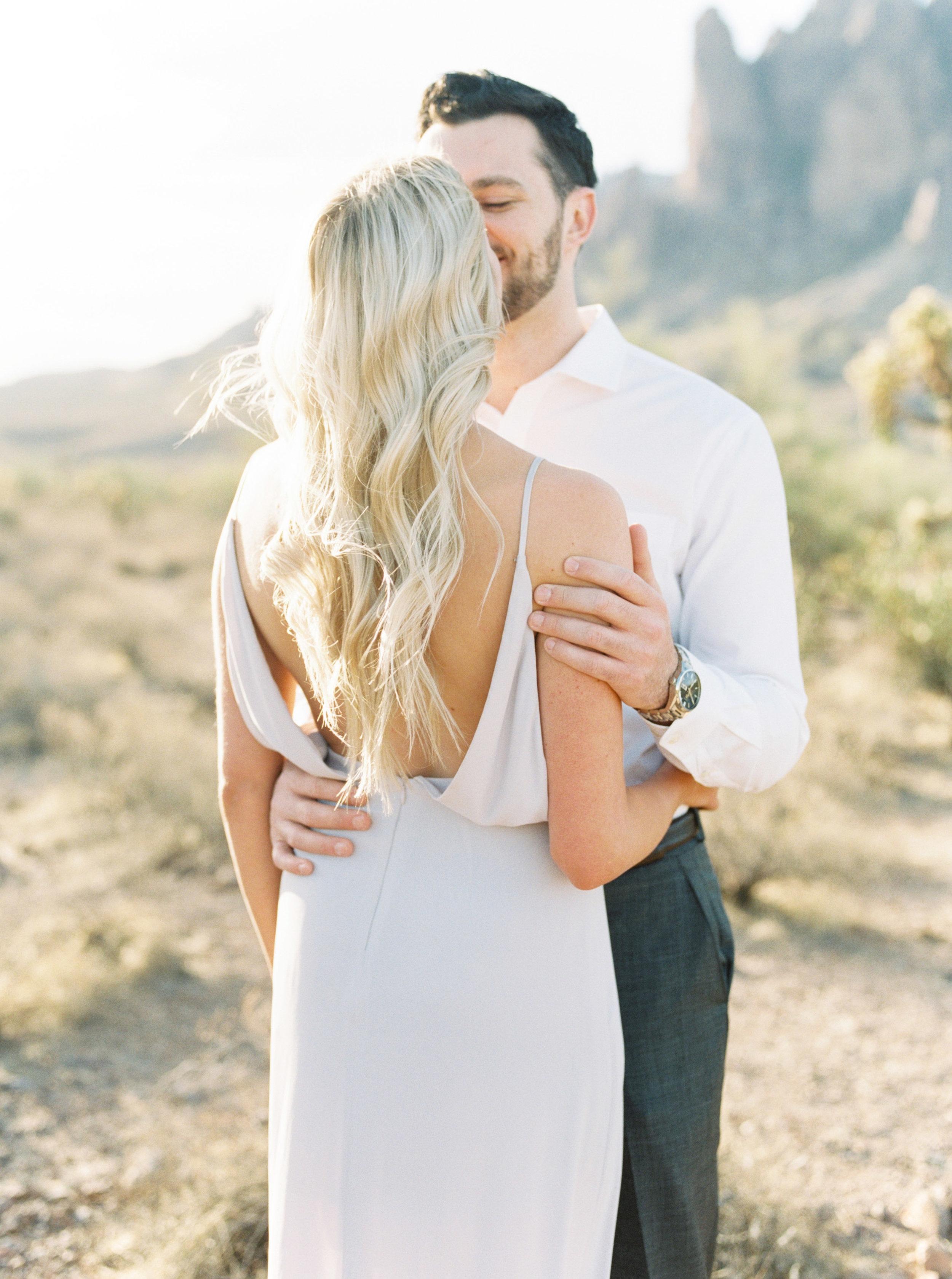 ENGAGEMENT    Nicole & Brad     Arizona Desert
