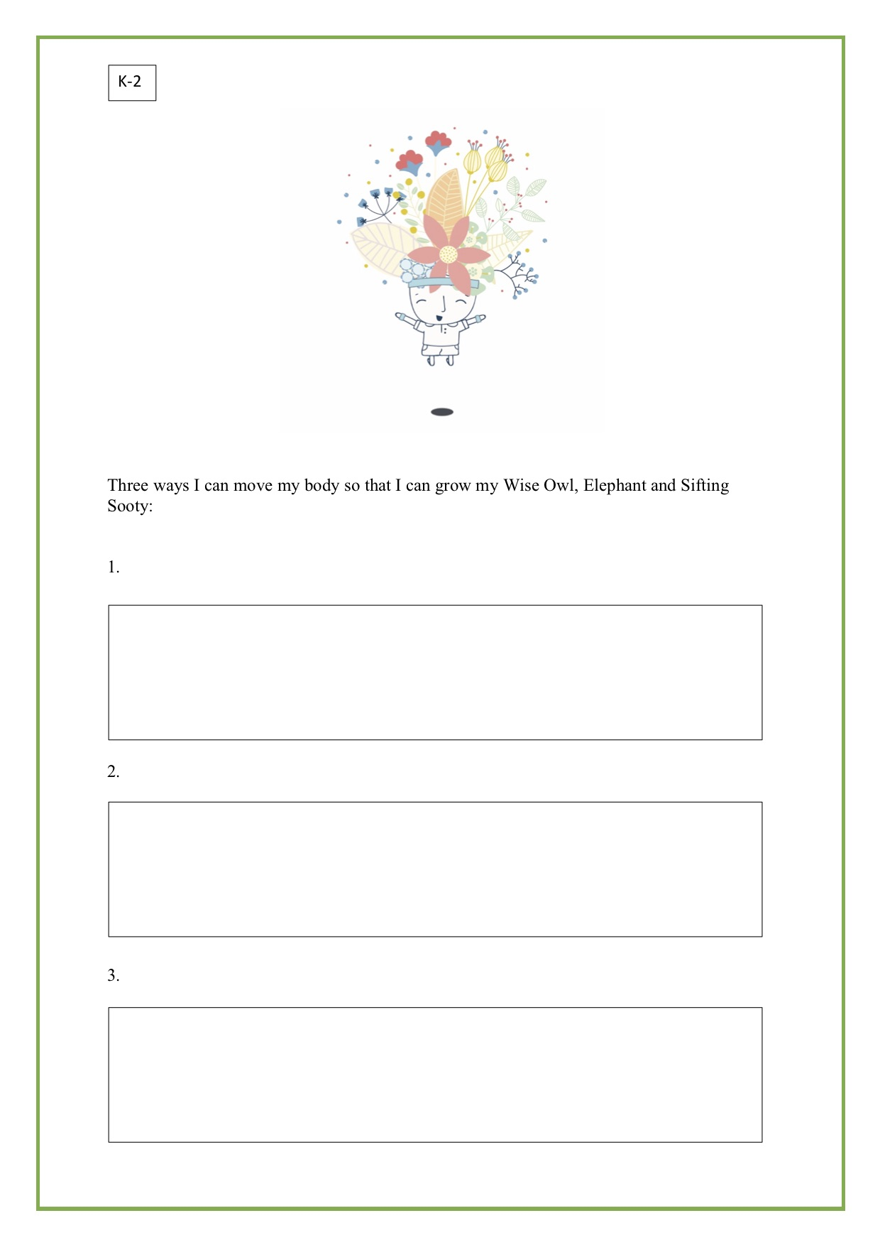 Mindful Movement - For: K-2 and 3-6To go with: Take Care of Your Mind poster and Introductory lessons