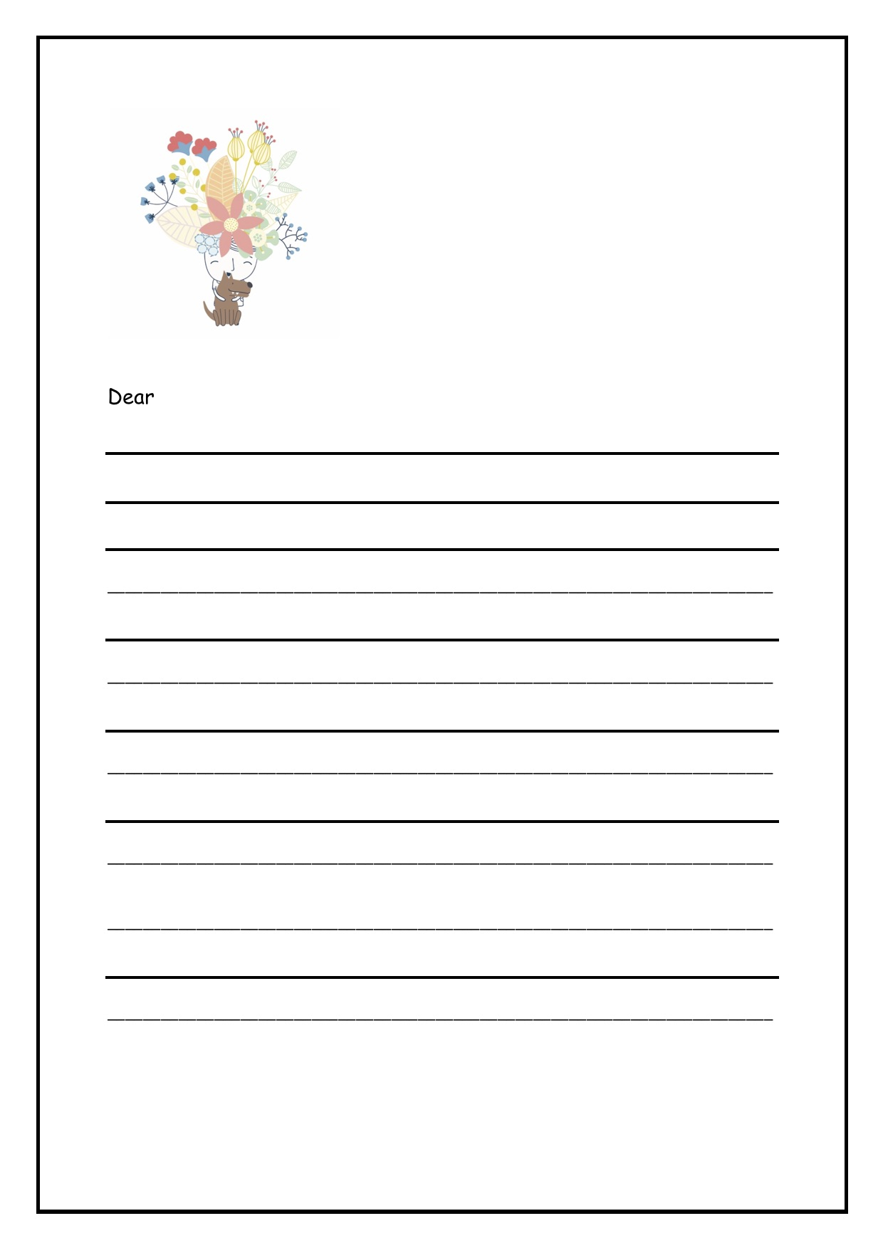 Gratitude letter - For: Year 2-6To go with: Introductory lessons or use in isolation