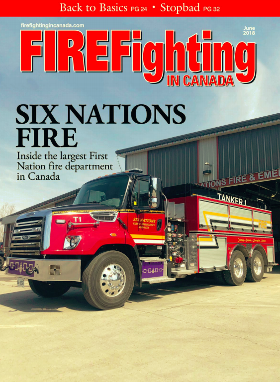 June 2018 Firefighting in Canada Article by Lance Bushie on Live Fire Training
