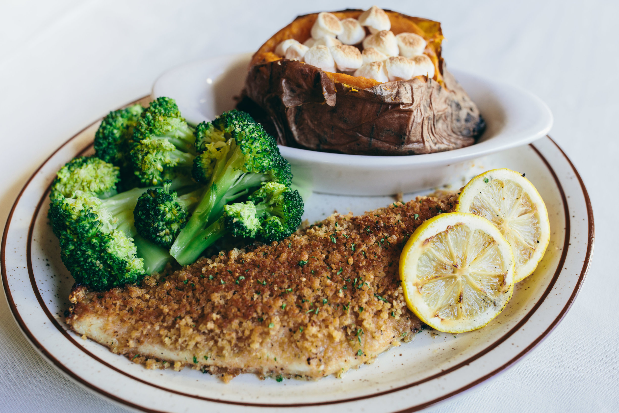Parmesan Crusted Walleye