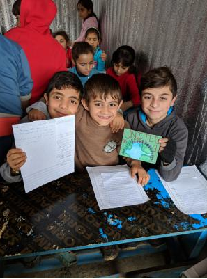 Letters to Lebanon: Hudson students connect with Syrian refugees - Read the articleAmanda Purcell Columbia-Greene MediaTuesday, February 13th 2018