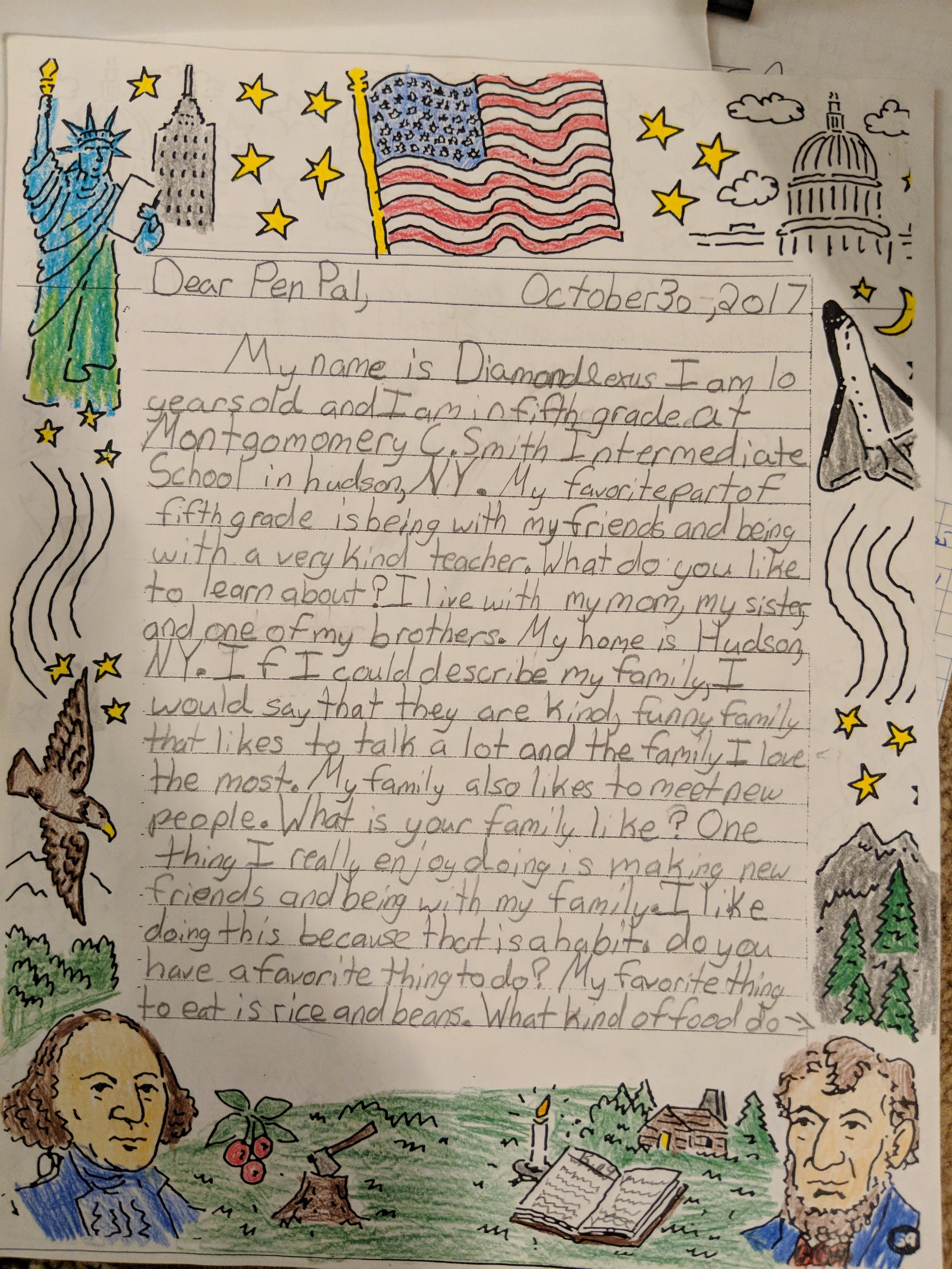 Hudson Pen Pal Letters on Display at Syrian Refugee Concert - Read the articleAmanda Purcell Columbia-Greene MediaThursday, February 15, 2018