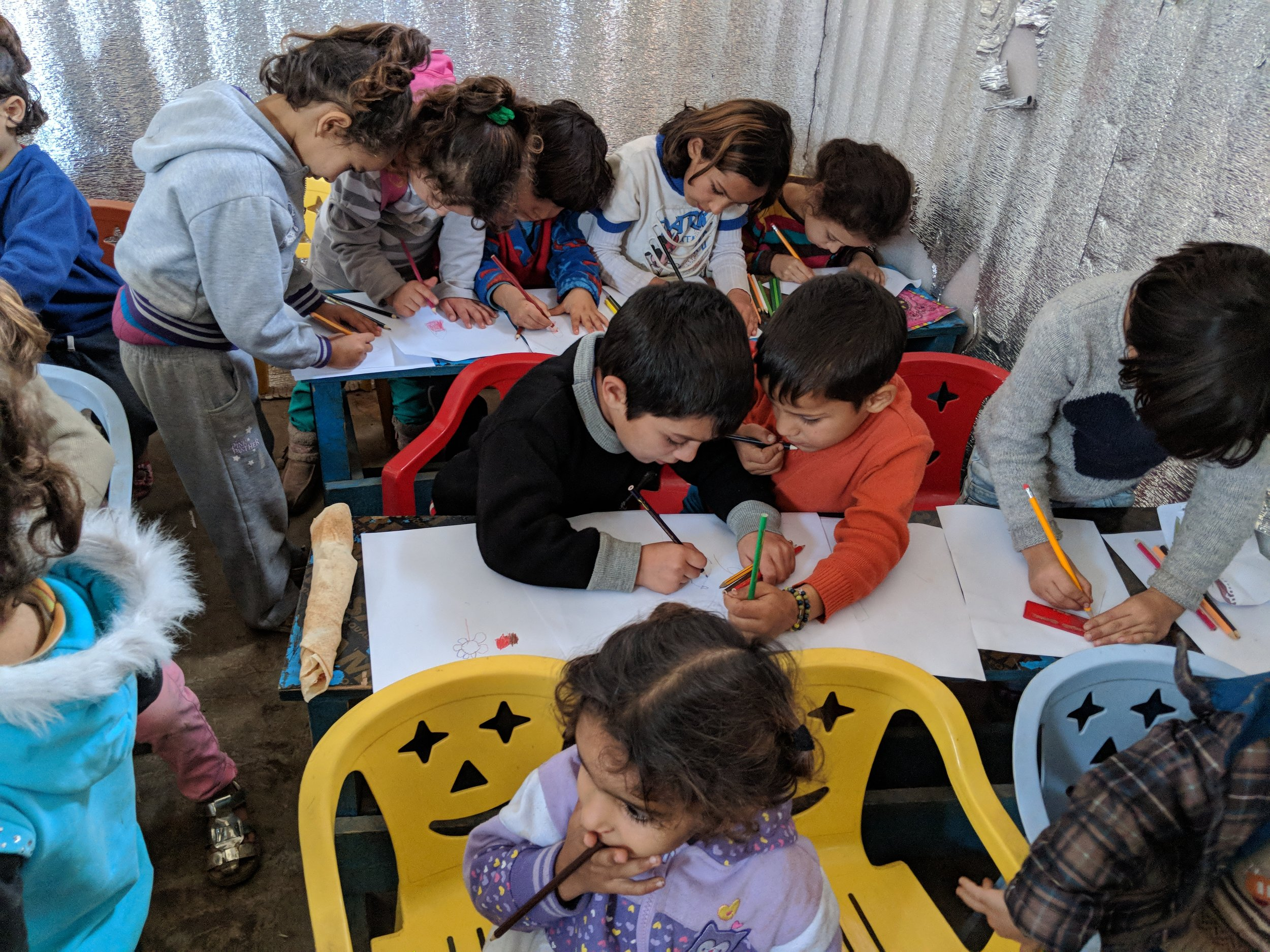 """HELP SYRIA'S KIDS: SHARING HOPE AND EDUCATION - """"Education is the most powerful weapon which you can use to change the world"""" – Nelson Mandela."""
