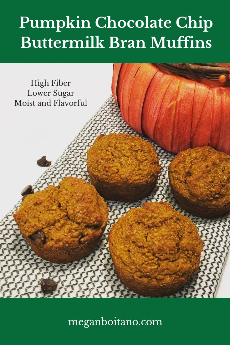 Pumpkin-Chocolate-Chip-Buttermilk-Bran-Muffins