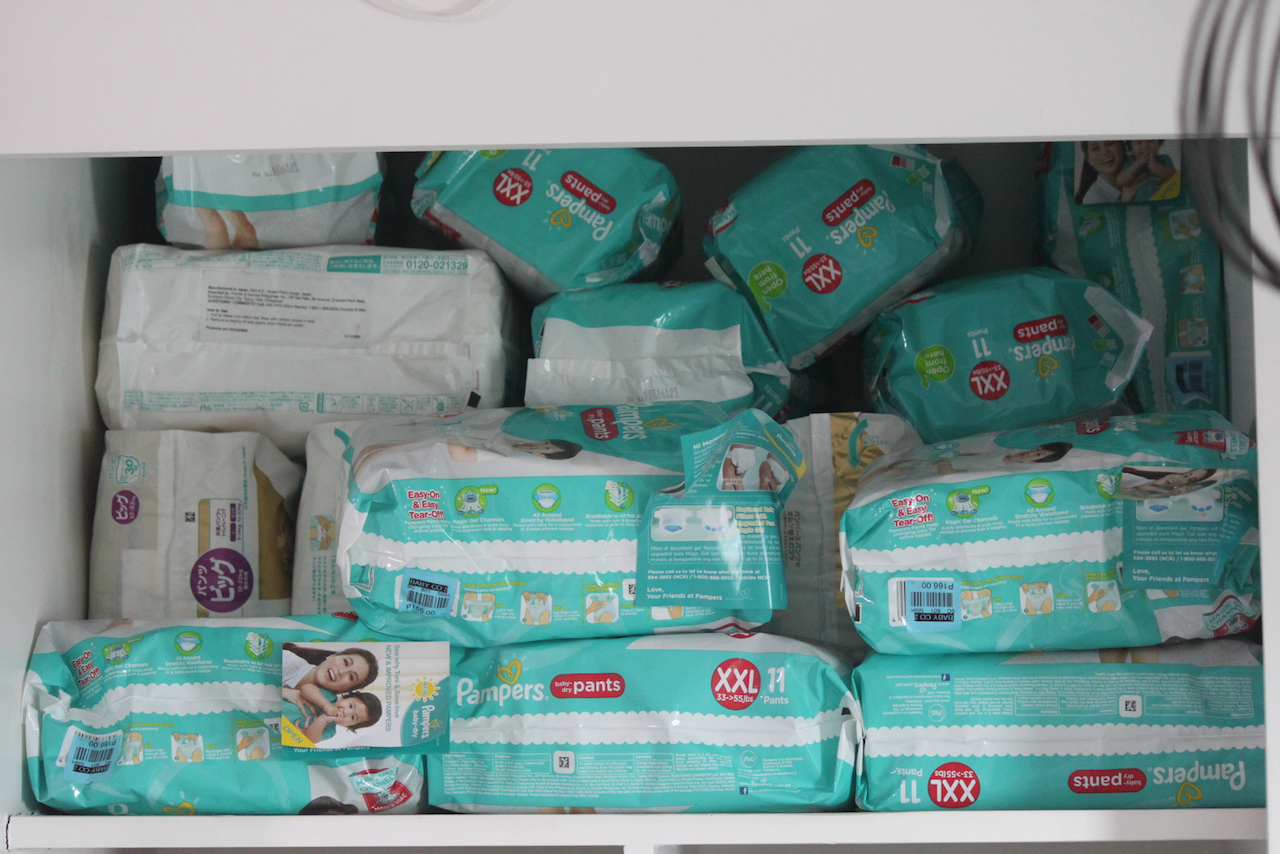 Pampers Baby Dry Pampers Premium -