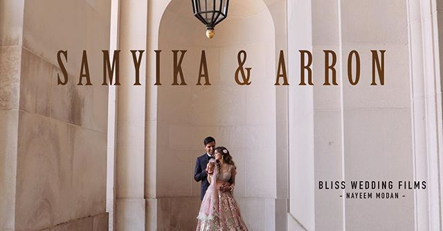 Samyika and Arron's Indian Wedding highlights up on our  the Facebook page. Check it out - https://www.facebook.com/blissweddingfilms/ #indianwedding ##dcwedding #weddingcinematography #weddingfilm #andrewwmellonauditorium #bigfatindianwedding #cinematic