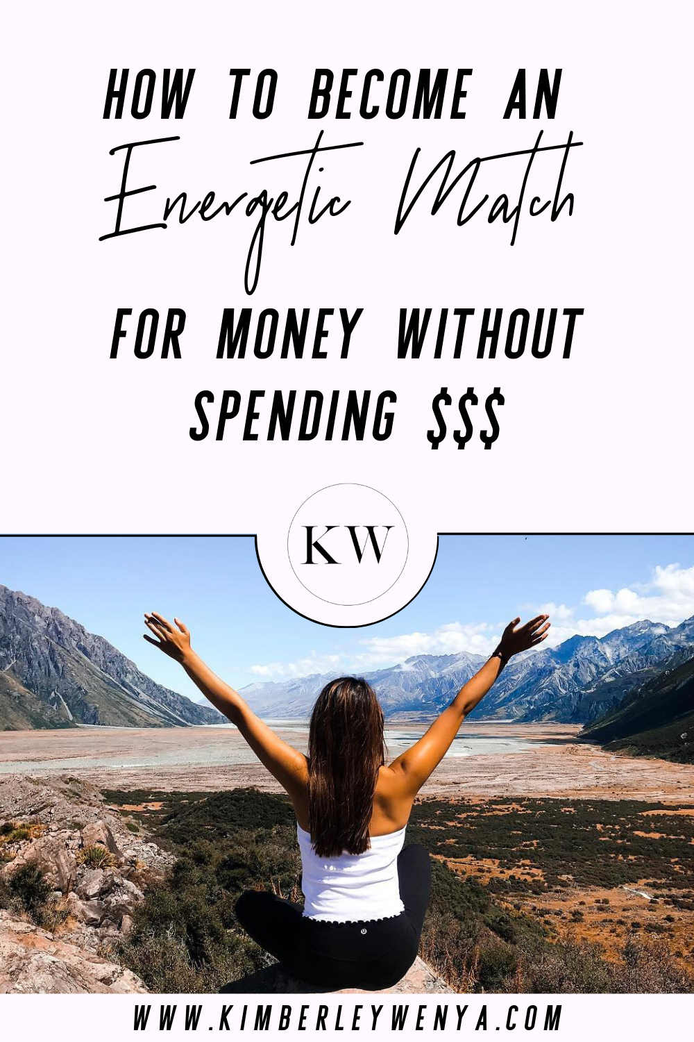 how to become an energetic match for money without spending