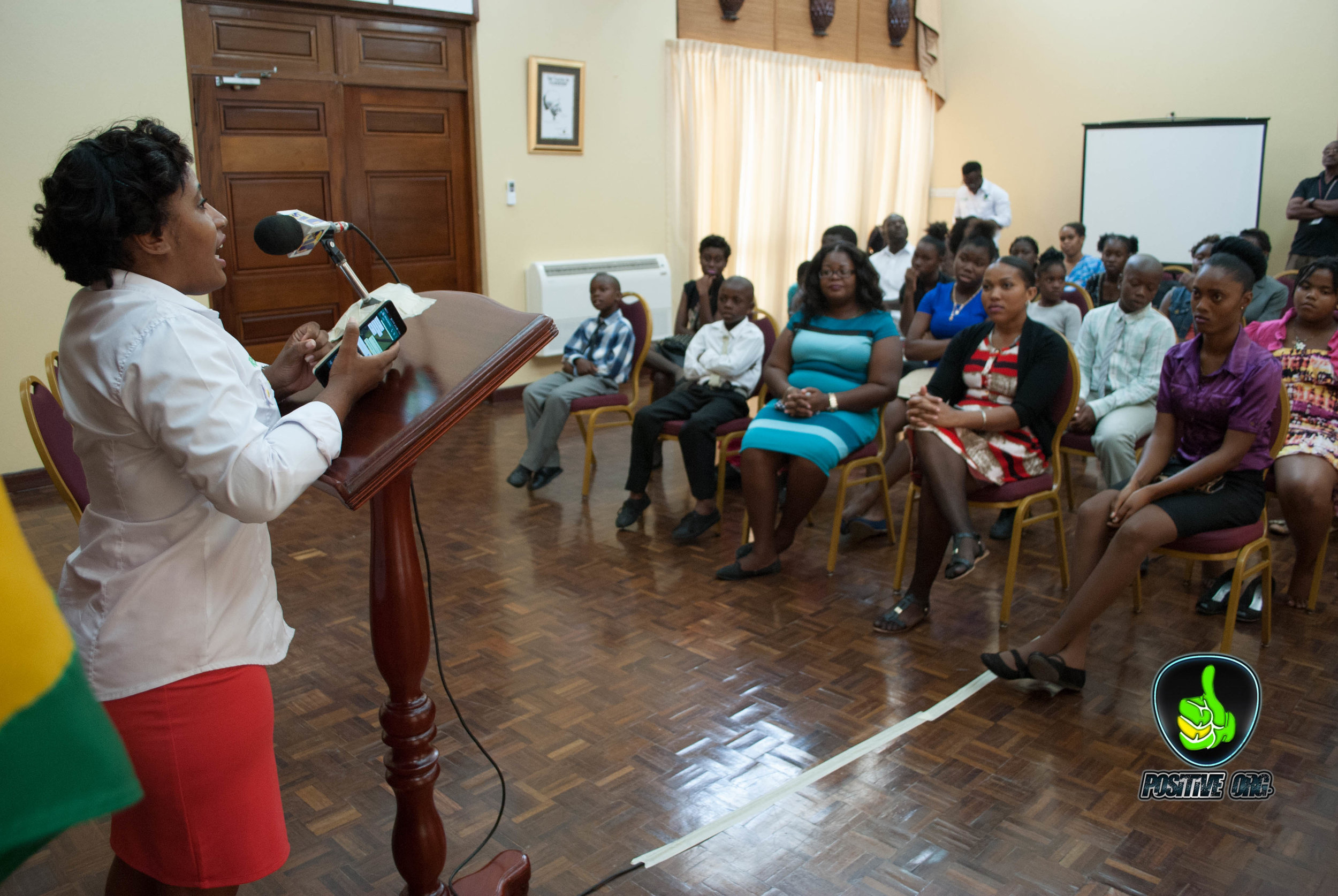 Tivoli Gardens Youth Club Excursion | The Office of the Prime Minister Jamaica