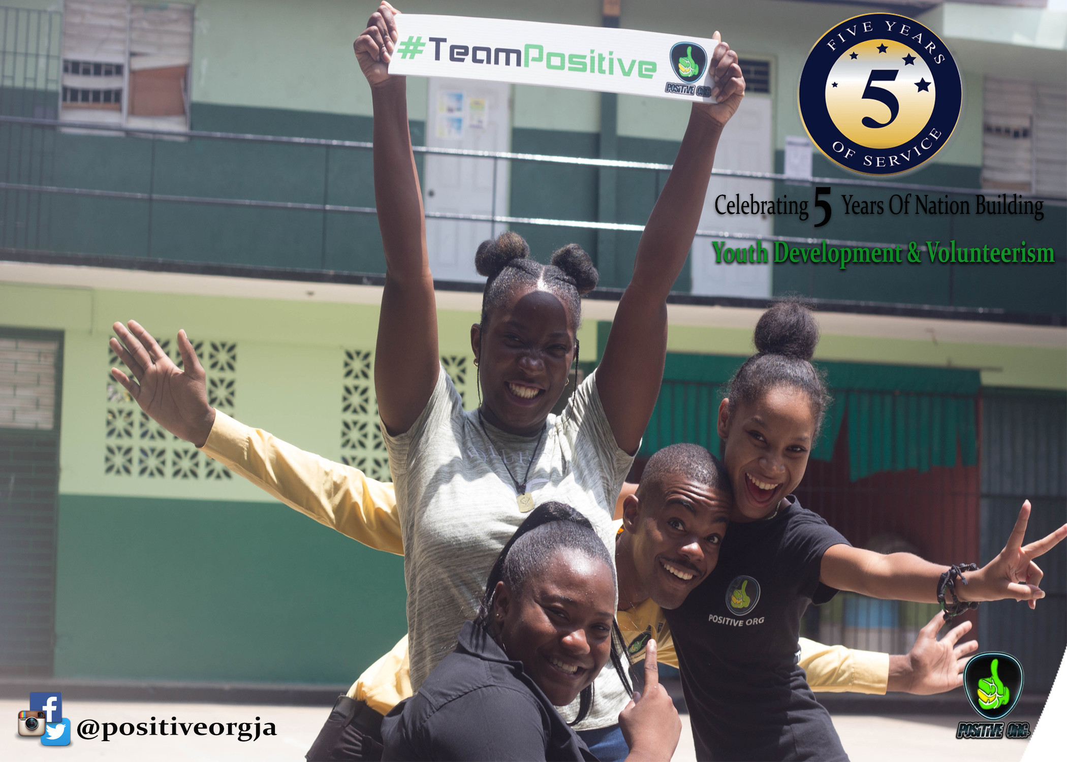 Youths Inspiring Positive Change Ja. | Celebrating 5 Years Of Service.
