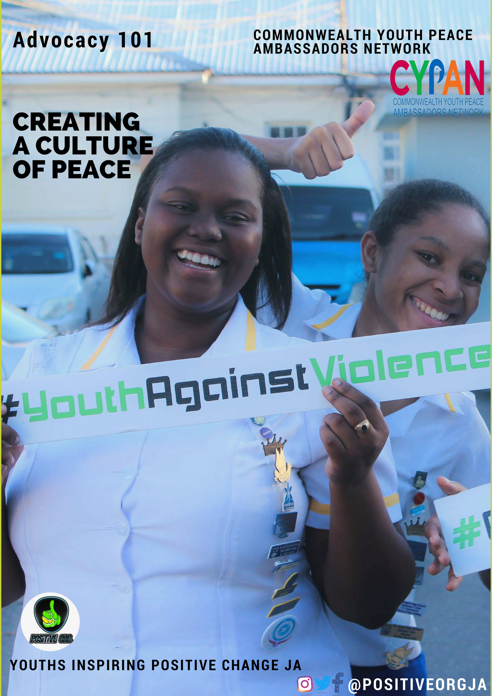 Let's play our part to Create a Culture of Peace