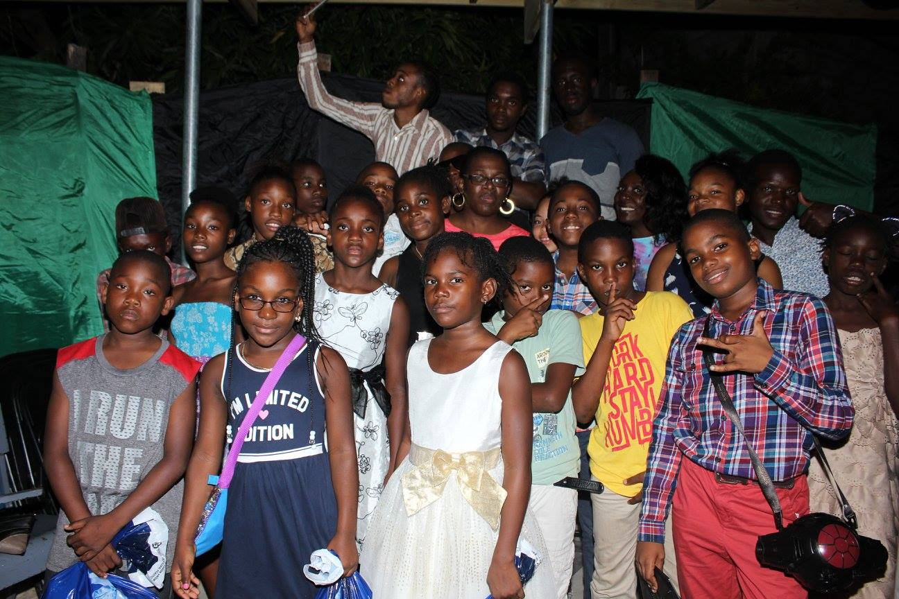 Members of The  East Gardens Youth for Progress Youth Club