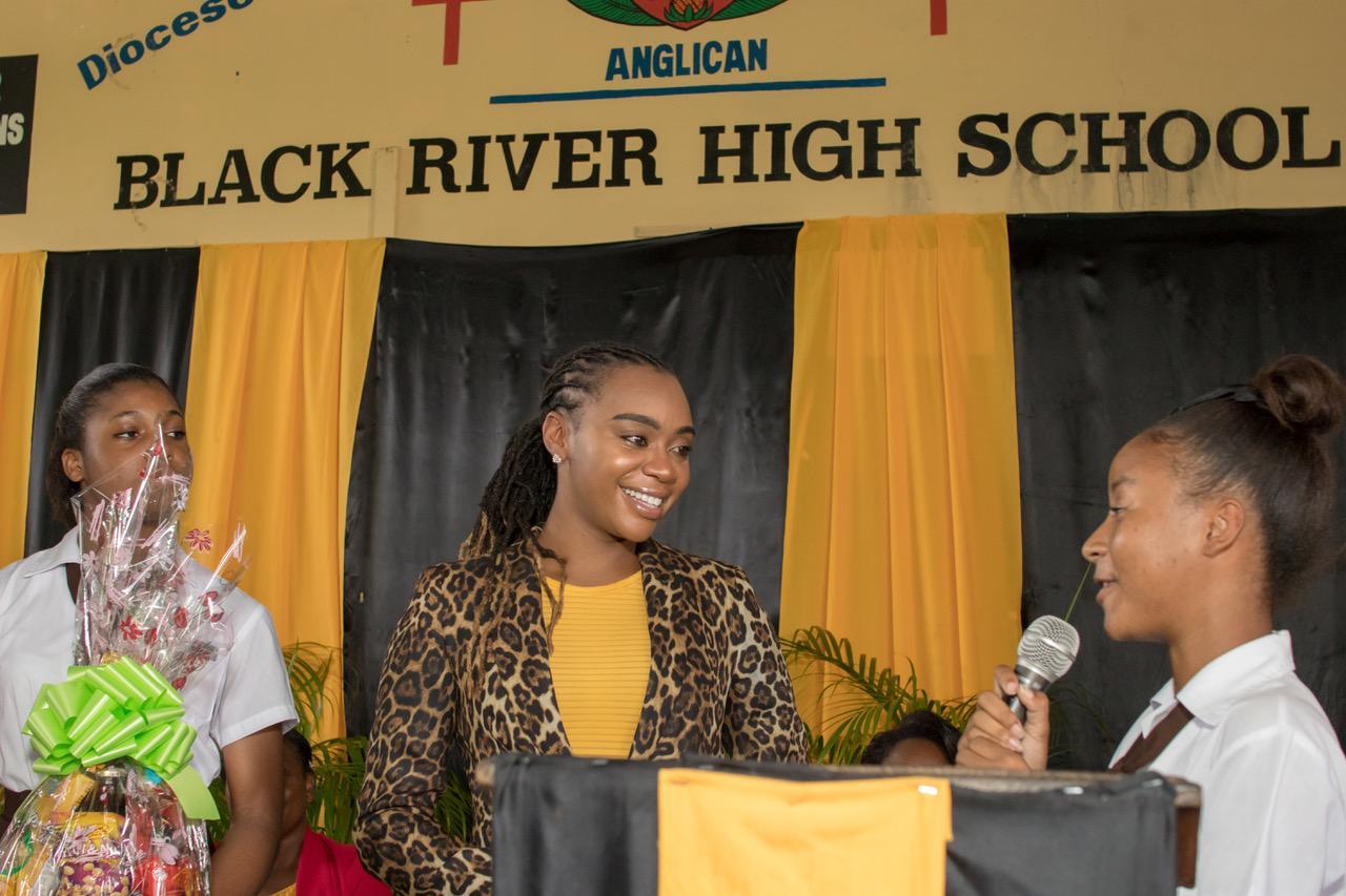 Krystal Tomlinson special guest speaker at Black River High School
