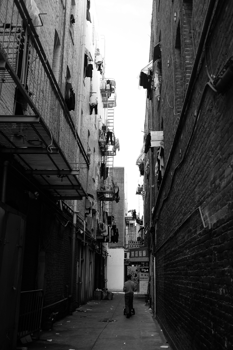 Man in the Alley
