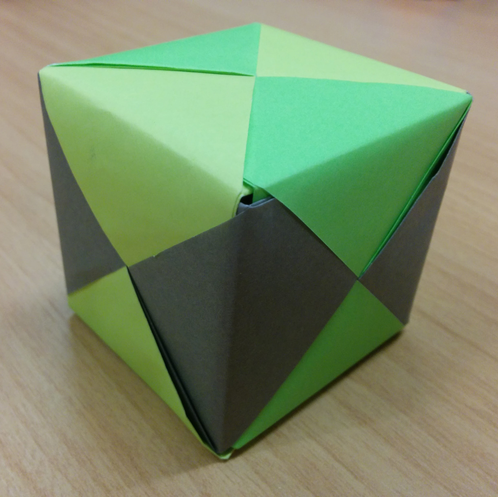 Modular Origami: How to Make a Cube, Octahedron & Icosahedron from ... | 998x1000