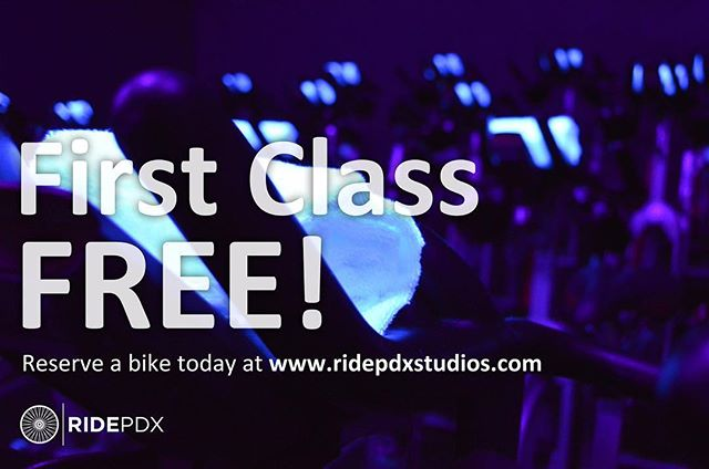Now Open in NW Slabtown 🔥🔥🔥 Founded in community / Forged in results / First RIDE on us 💪🏻💦💪🏻 #tuesdaytrainertip #werridepdx #ridepdxslabtown #boutiquefitness #indoorcycling #provenresults #letsride