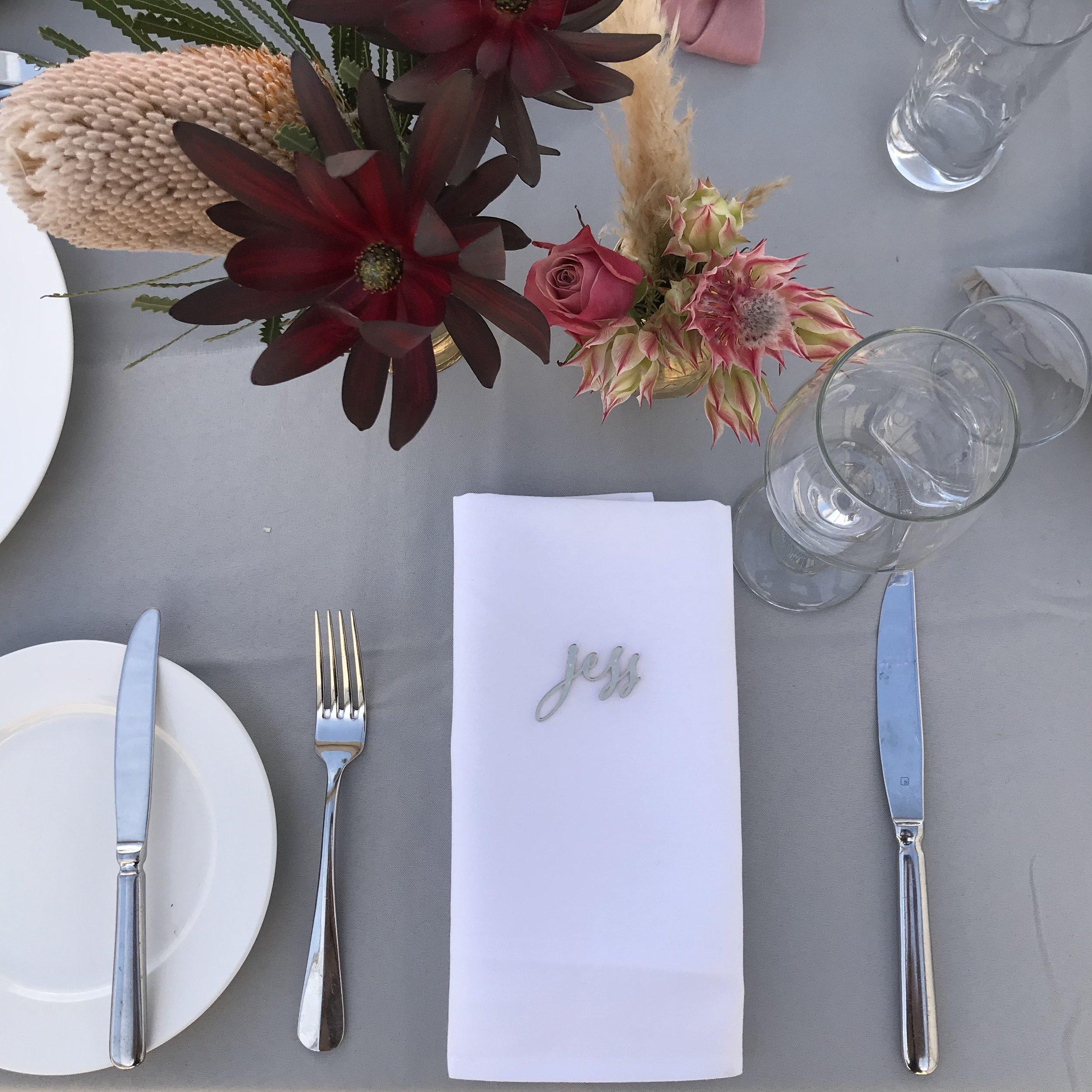 Hamilton Event & Wedding Styling